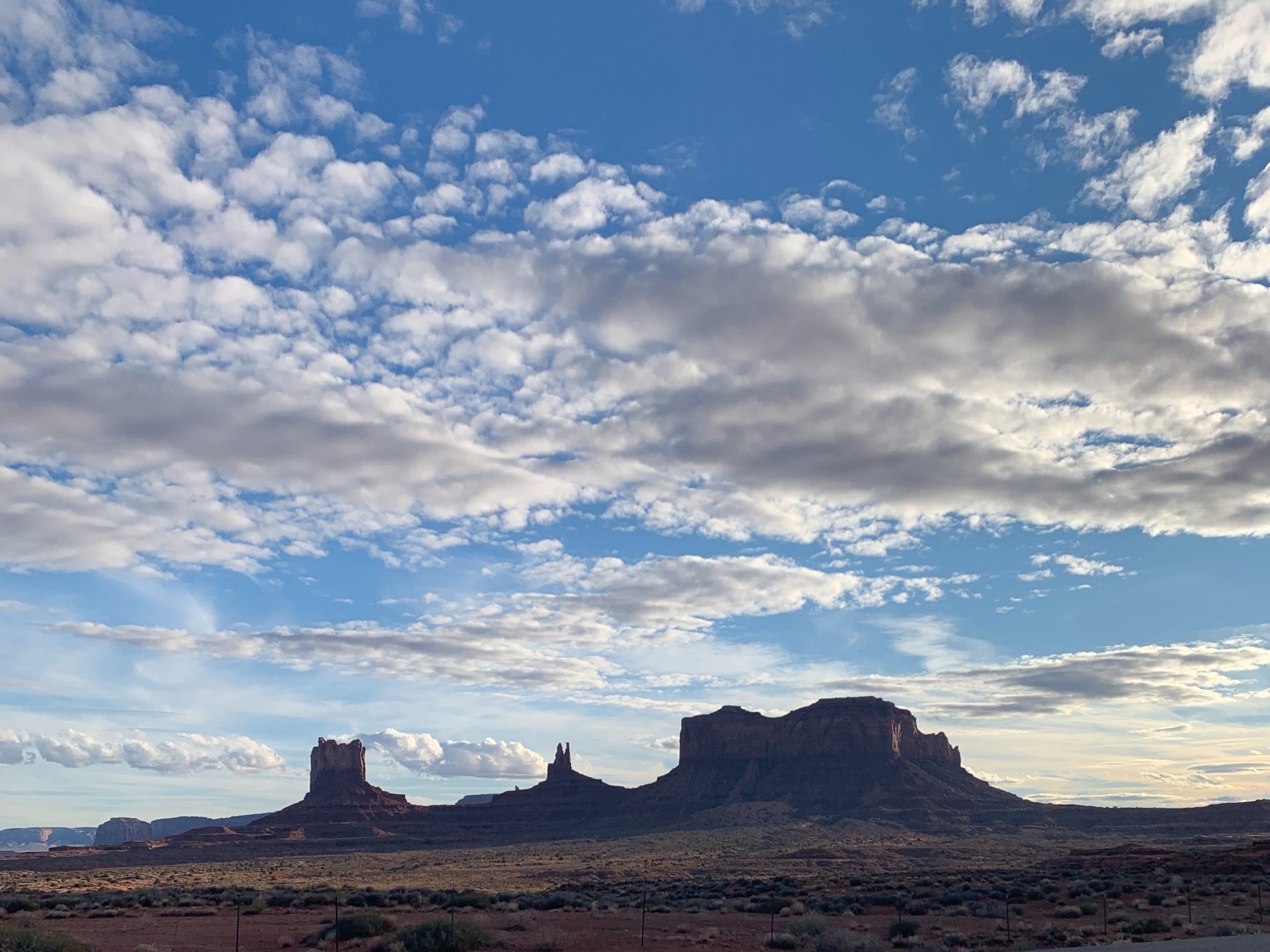 Monument Valley from afar