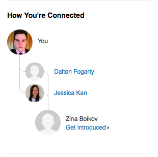 """update - LinkedIn has made this feature better through the """"See connections"""" Link. Now you can sort connections out by industry,"""
