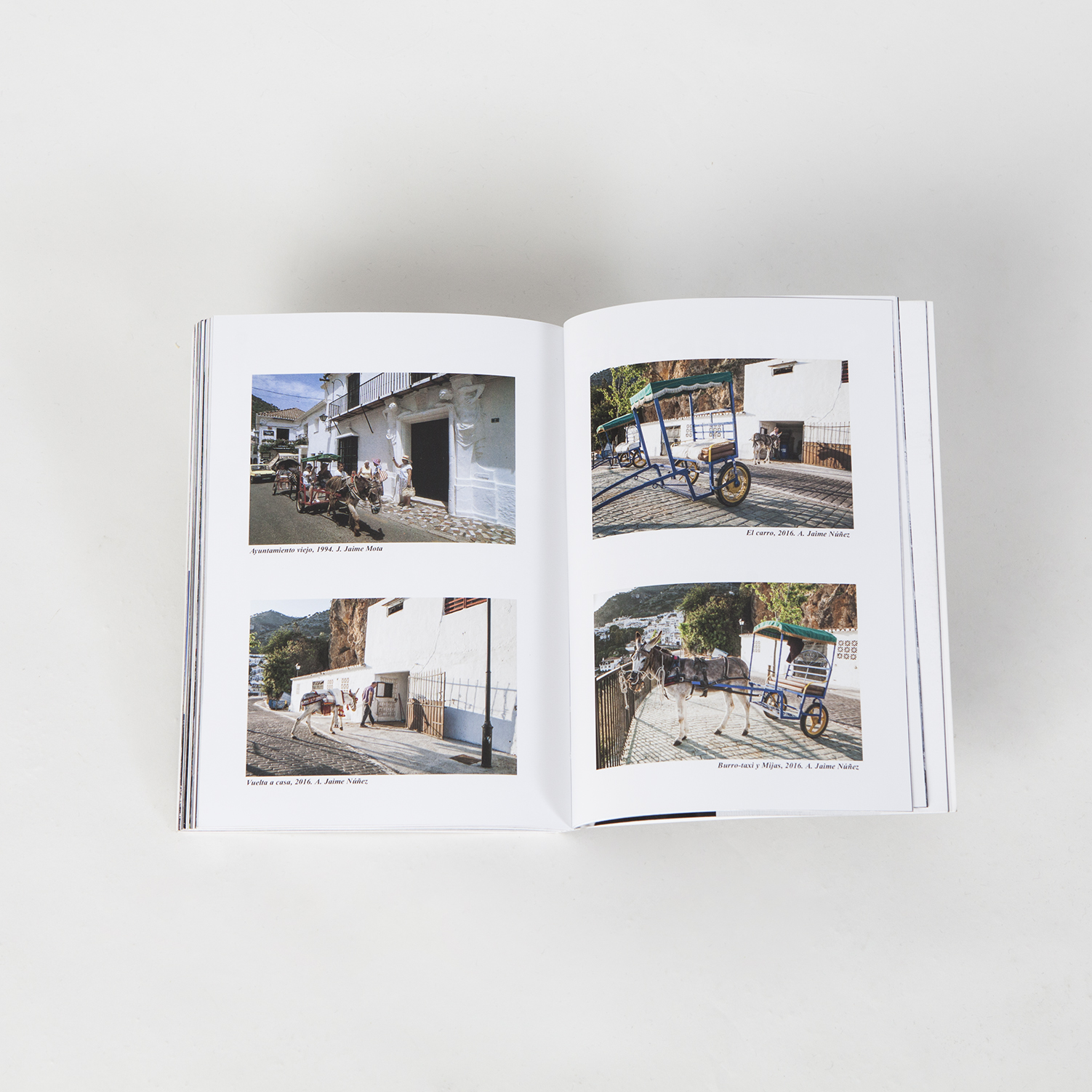 Fotografías en el libro Mijas: Ayer y Hoy