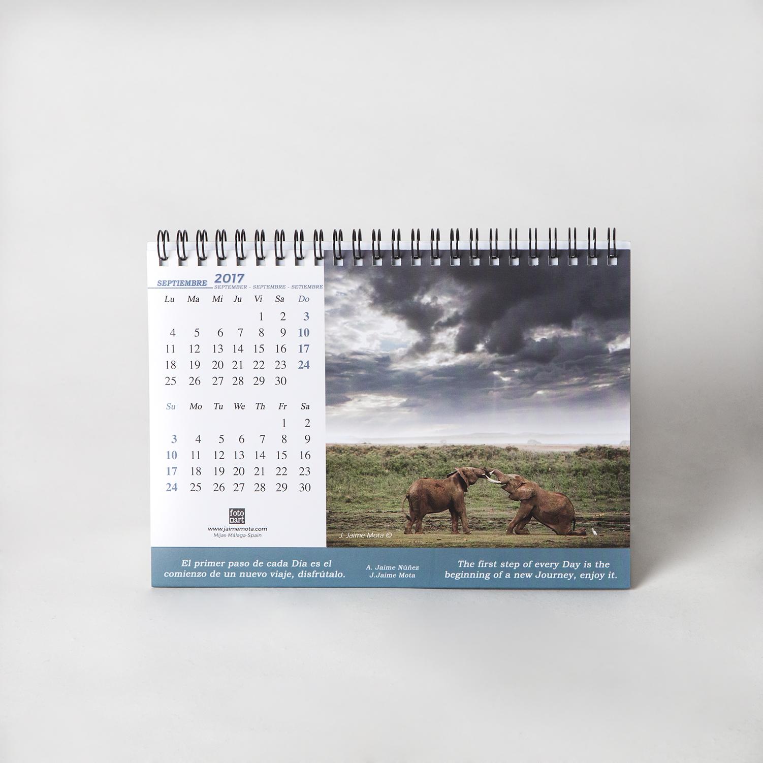 Fotografía calendario 2017 Fotoart