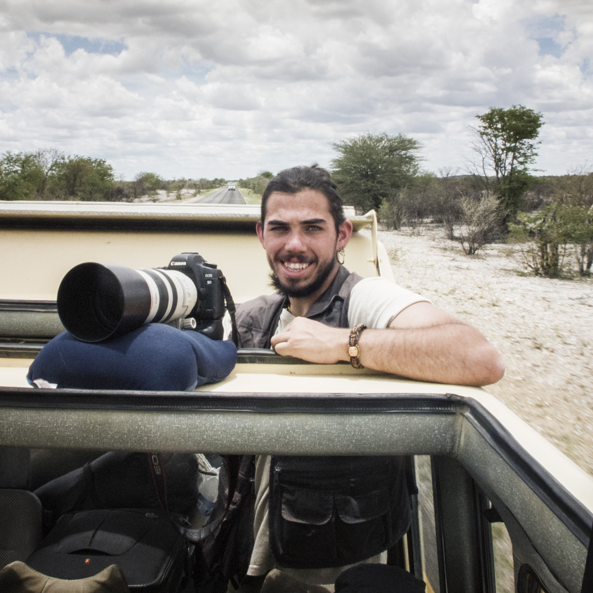 Alex Jaime in Namibia