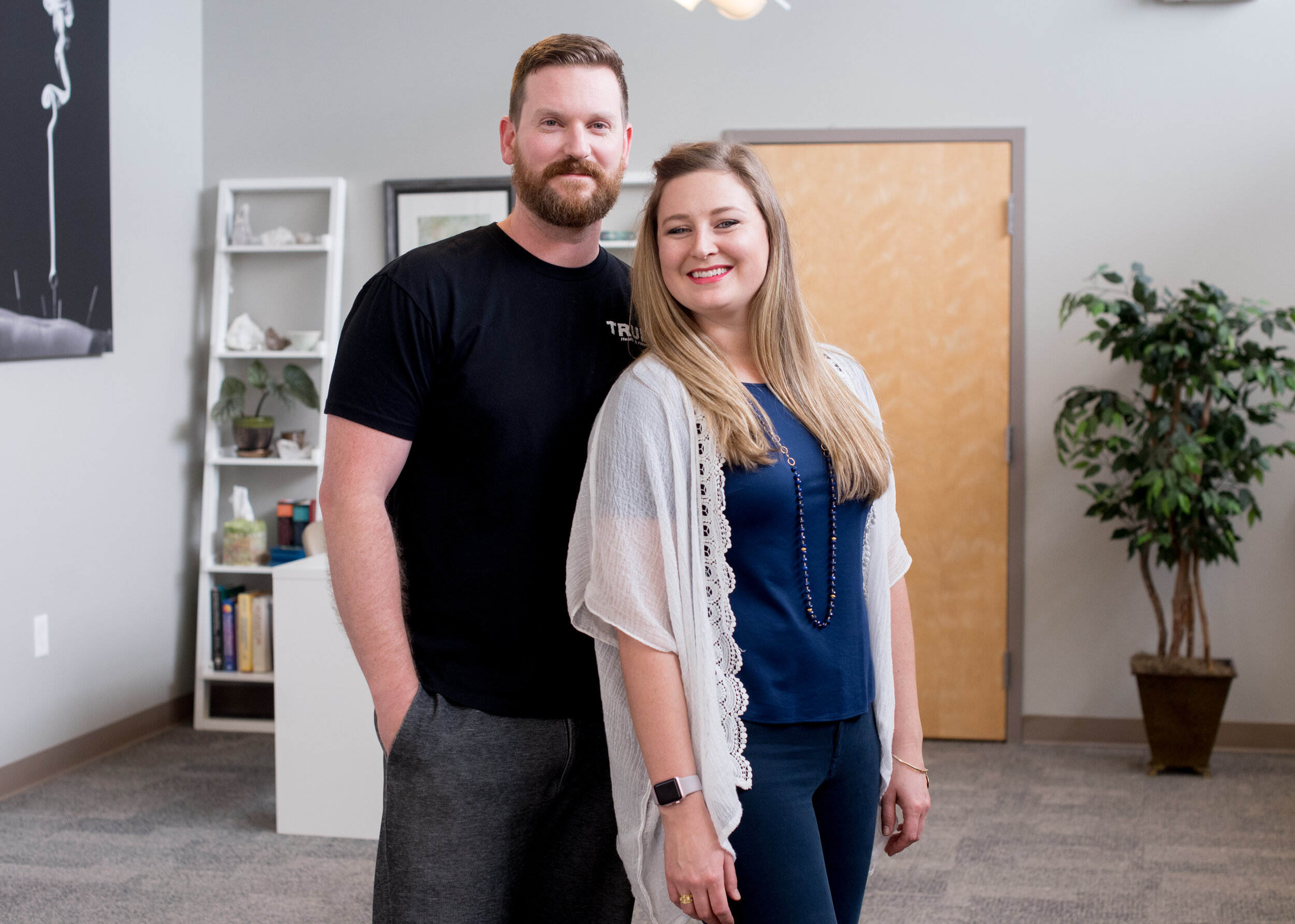Dr. Kevin & Emily Andrews  Owners of True Health and Fitness