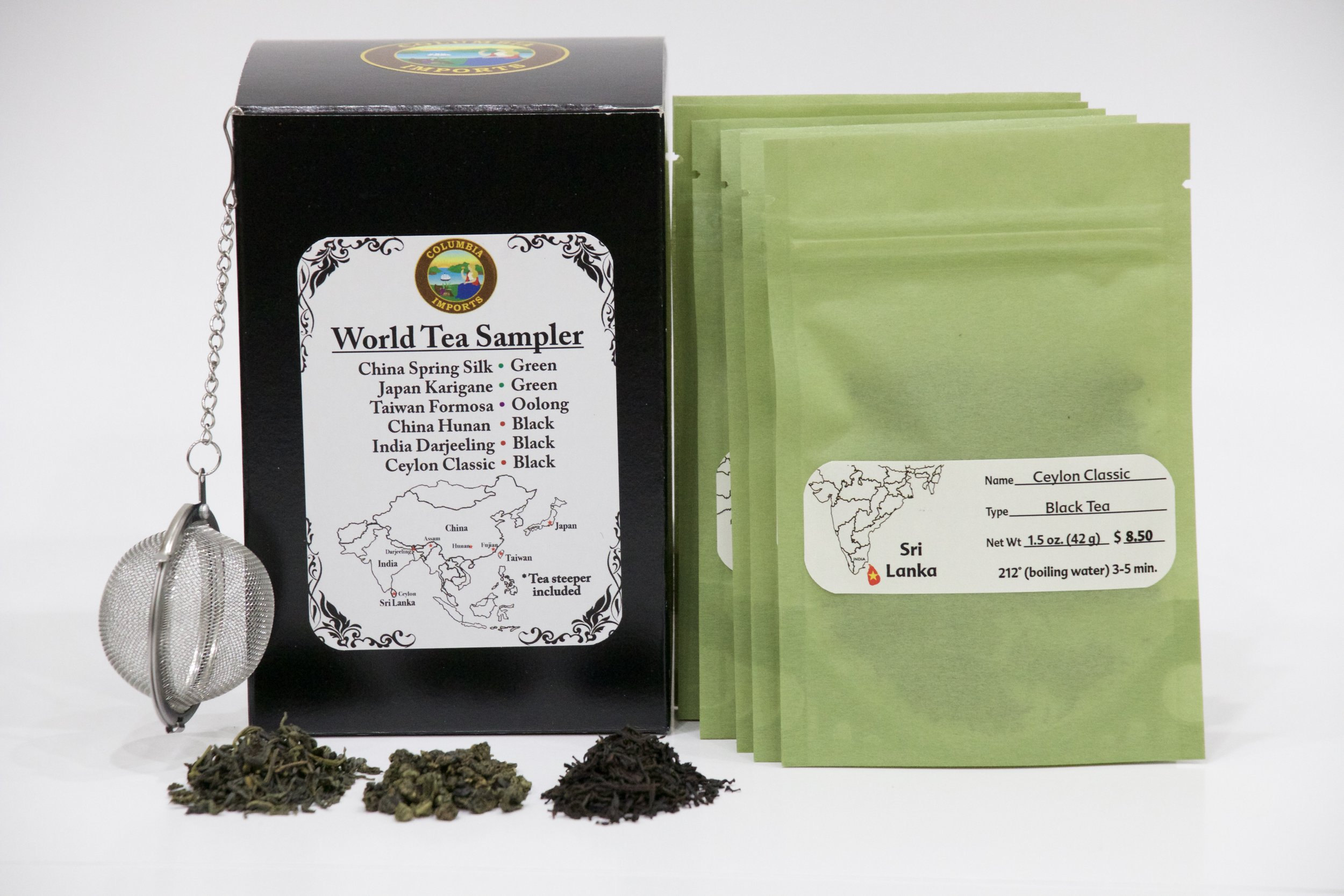 World Tea Sampler