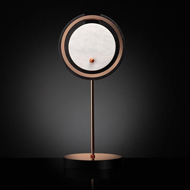 HILMIR table lamp. Materials used: copper, marble, ash wood. . #tablelamps #luxurylighting #productdesign #interiorlighting #lightingideas #designboom #designbunker #yankodesign