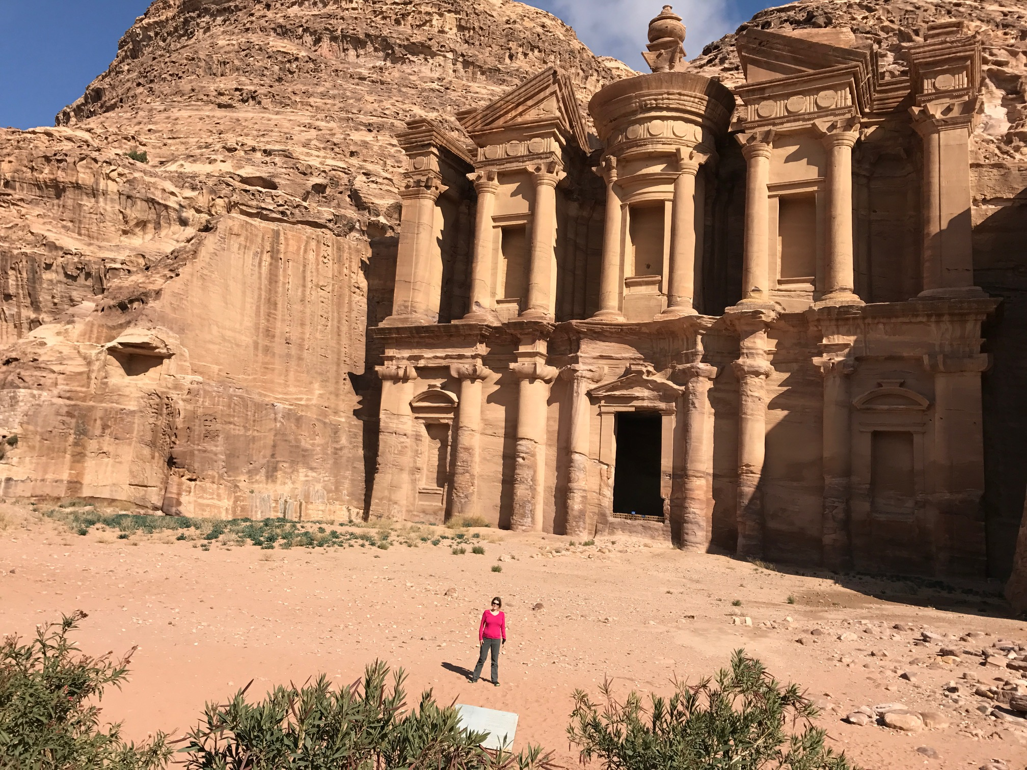 The monestary in Petra