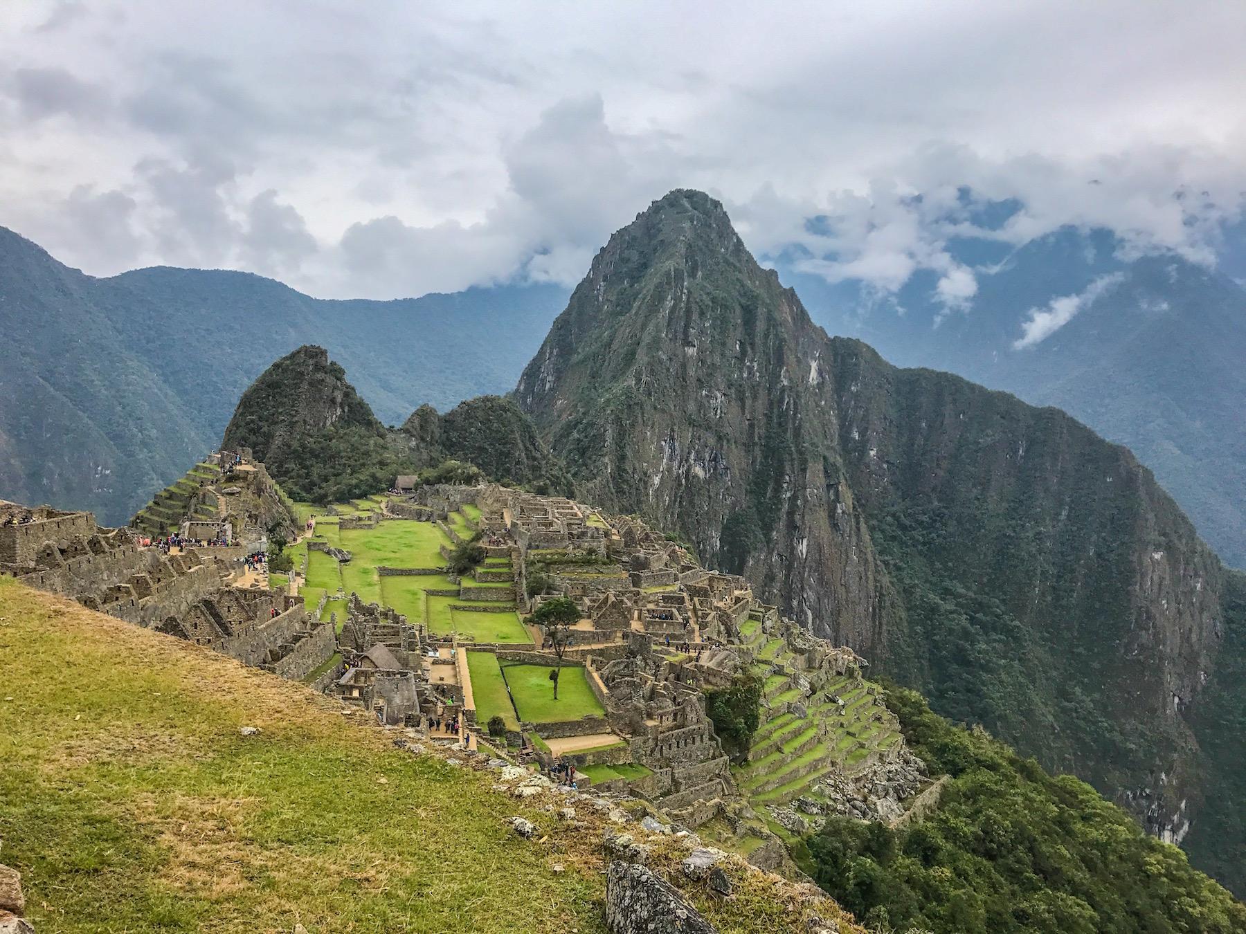 Classic shot of Machu Picchu