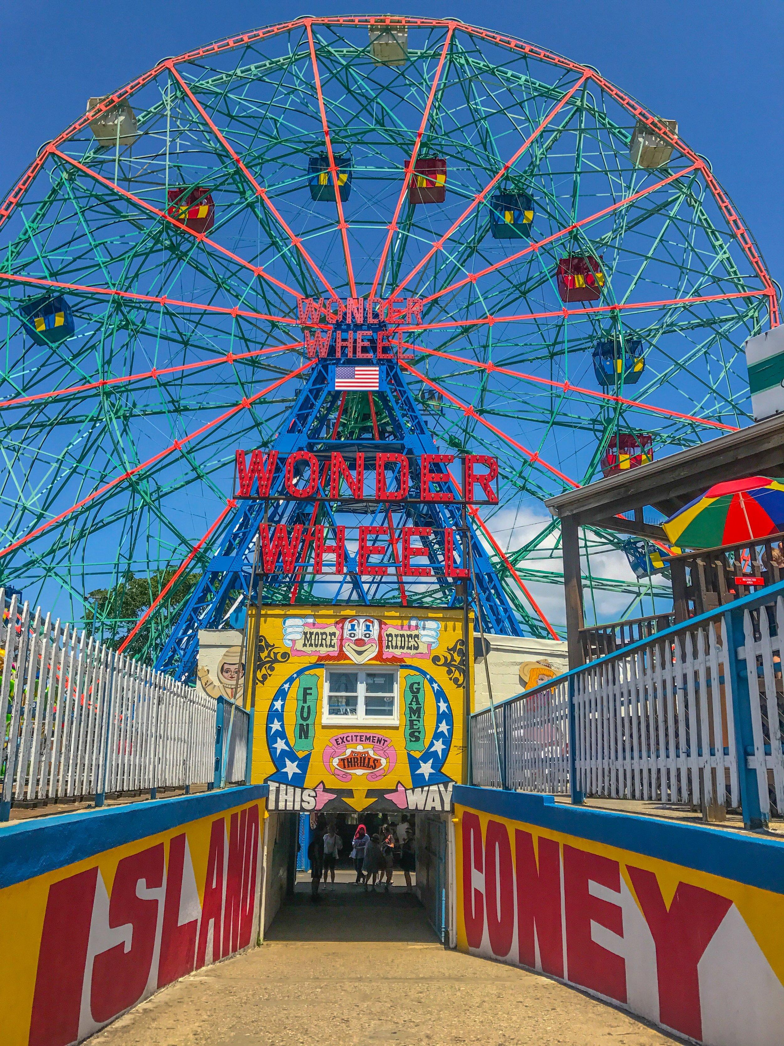 World famous Coney Island!