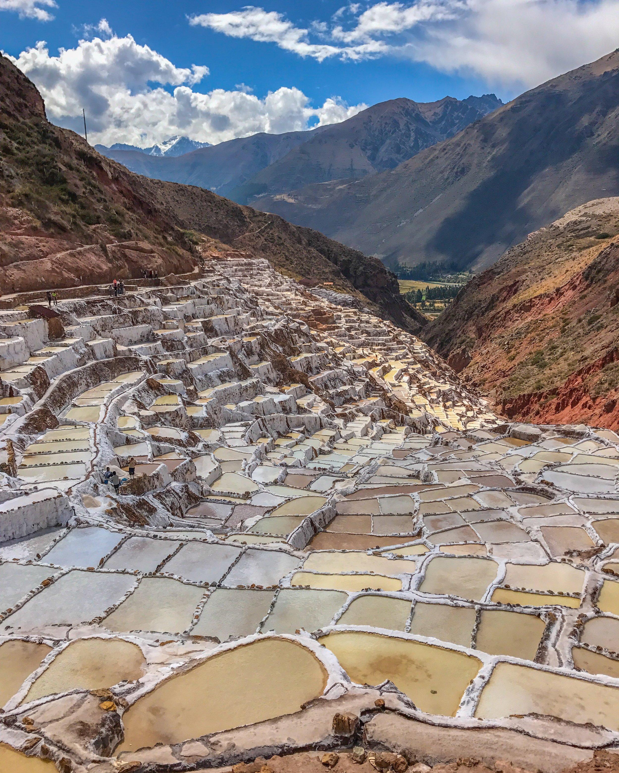 Maras salt mines near Cusco