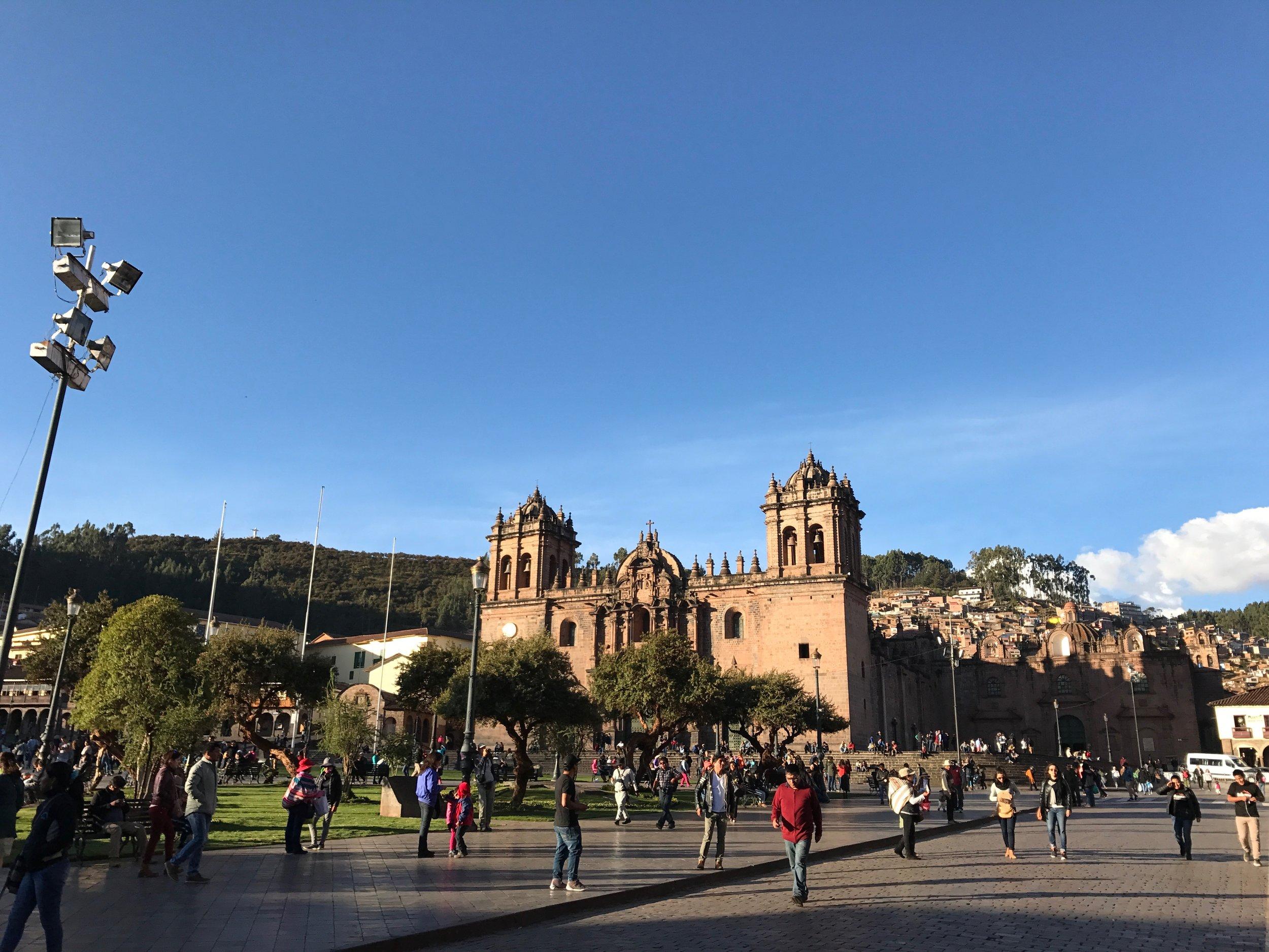 Plaza de Armas in central Cusco