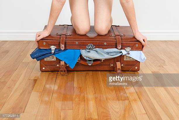 how to save space in luggage