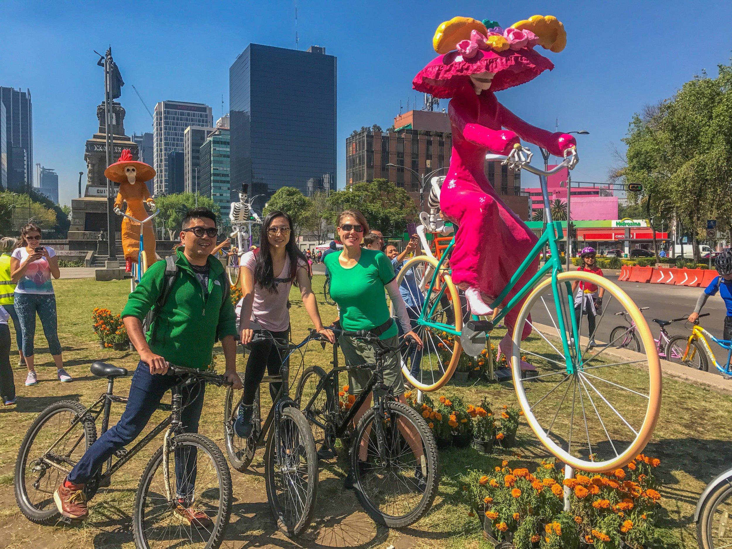 Mexico City Bike Tour