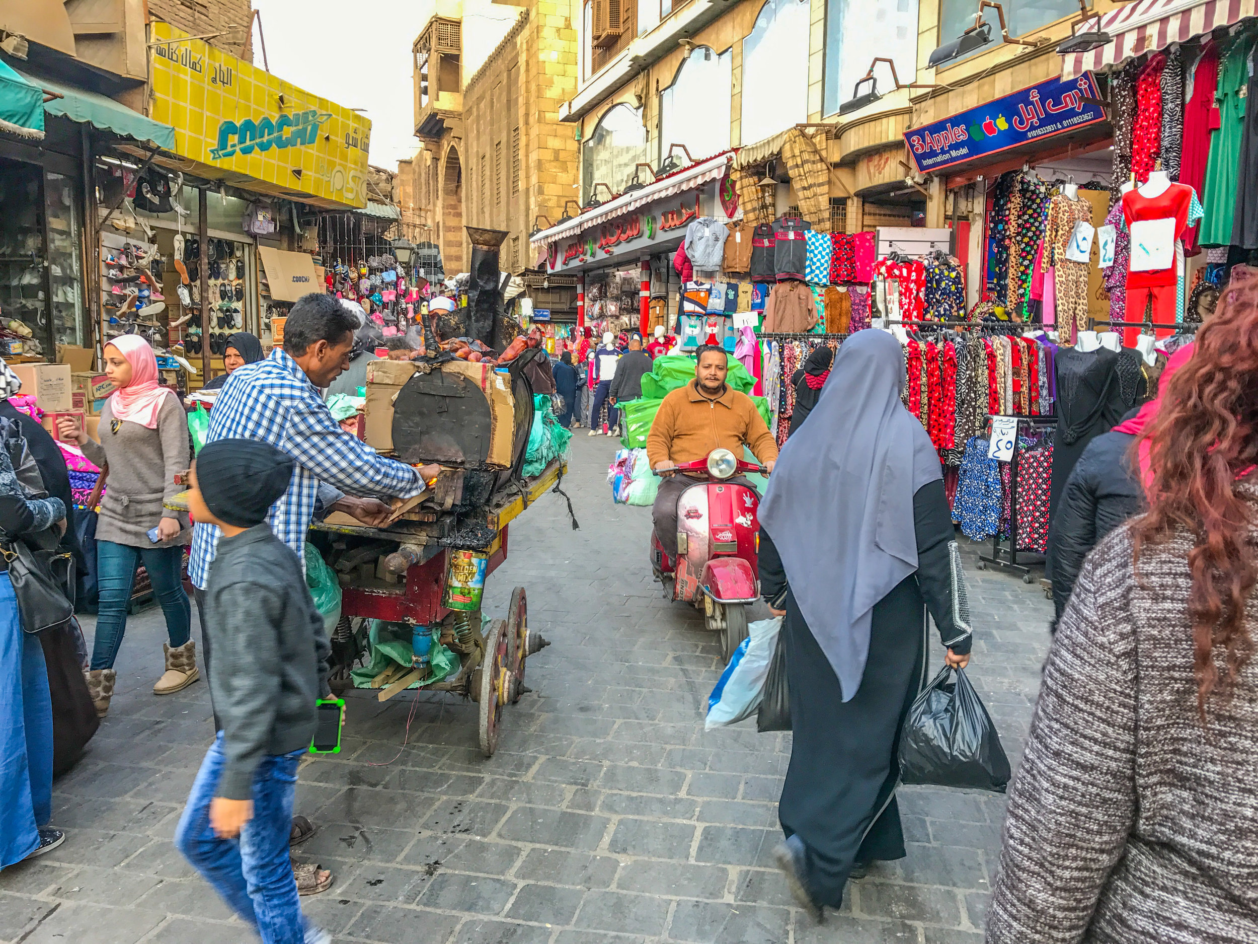 Bustling Cairo