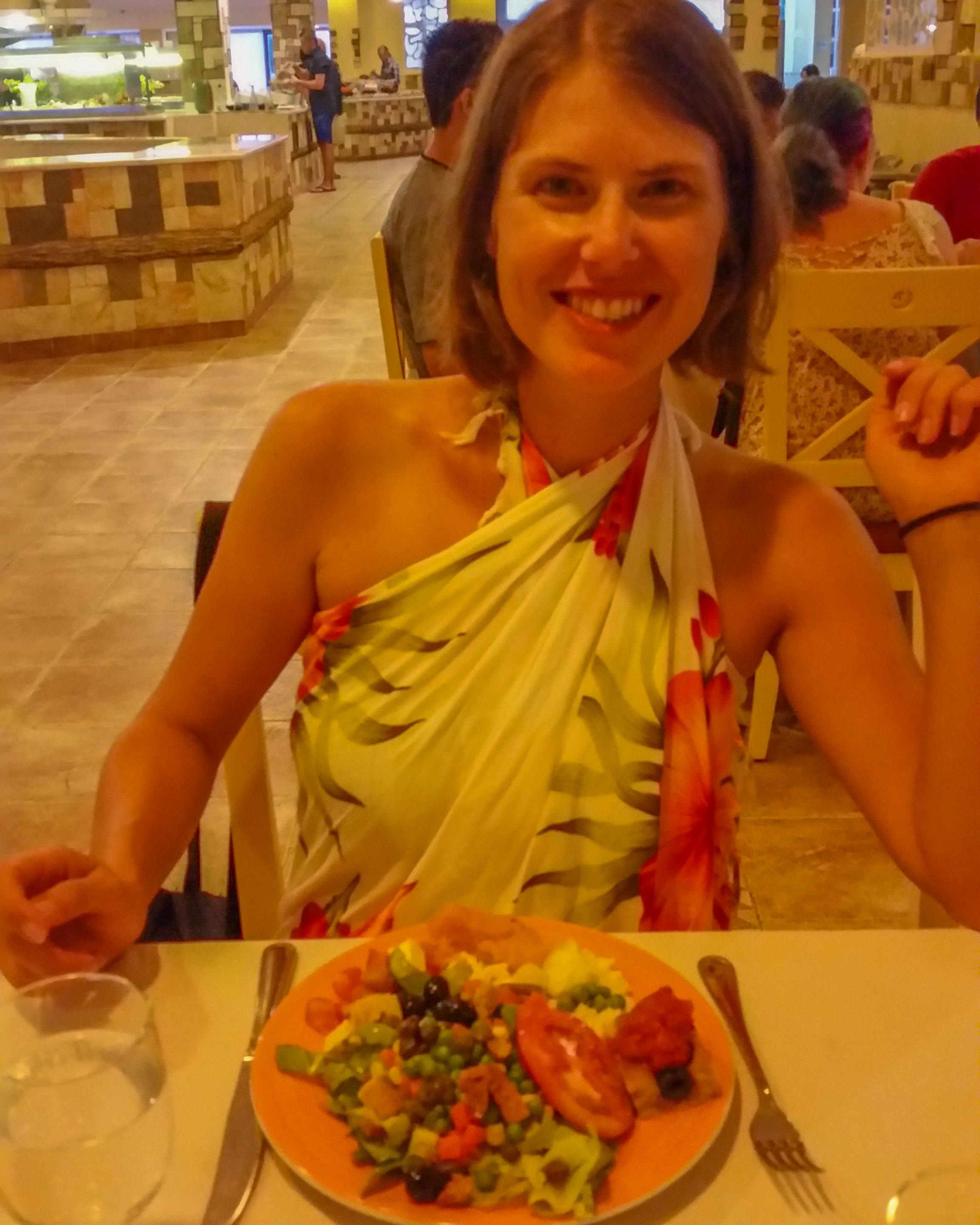 """2016 in Cayo Coco. The all-inclusive """"luxury"""" resort had more veggies than I had ever seen in Cuba but they were pretty underwhelming"""