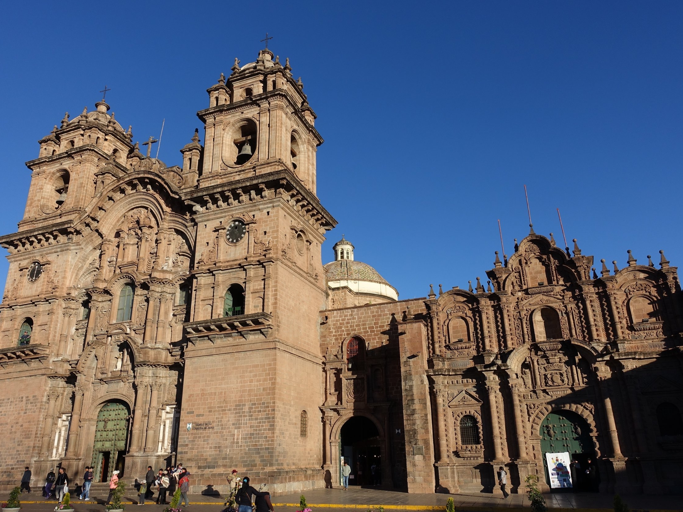 The Cathedral in the Plaza de Armas