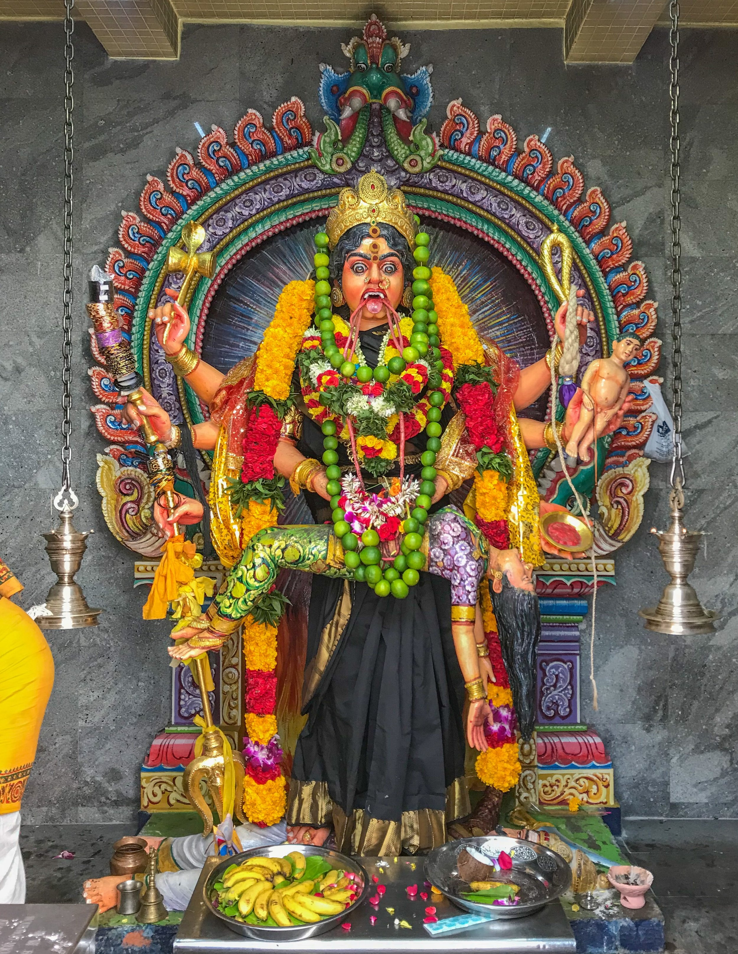 Periyachi, believed to conduct the first c-sections. Hindus pray to her for fertility.