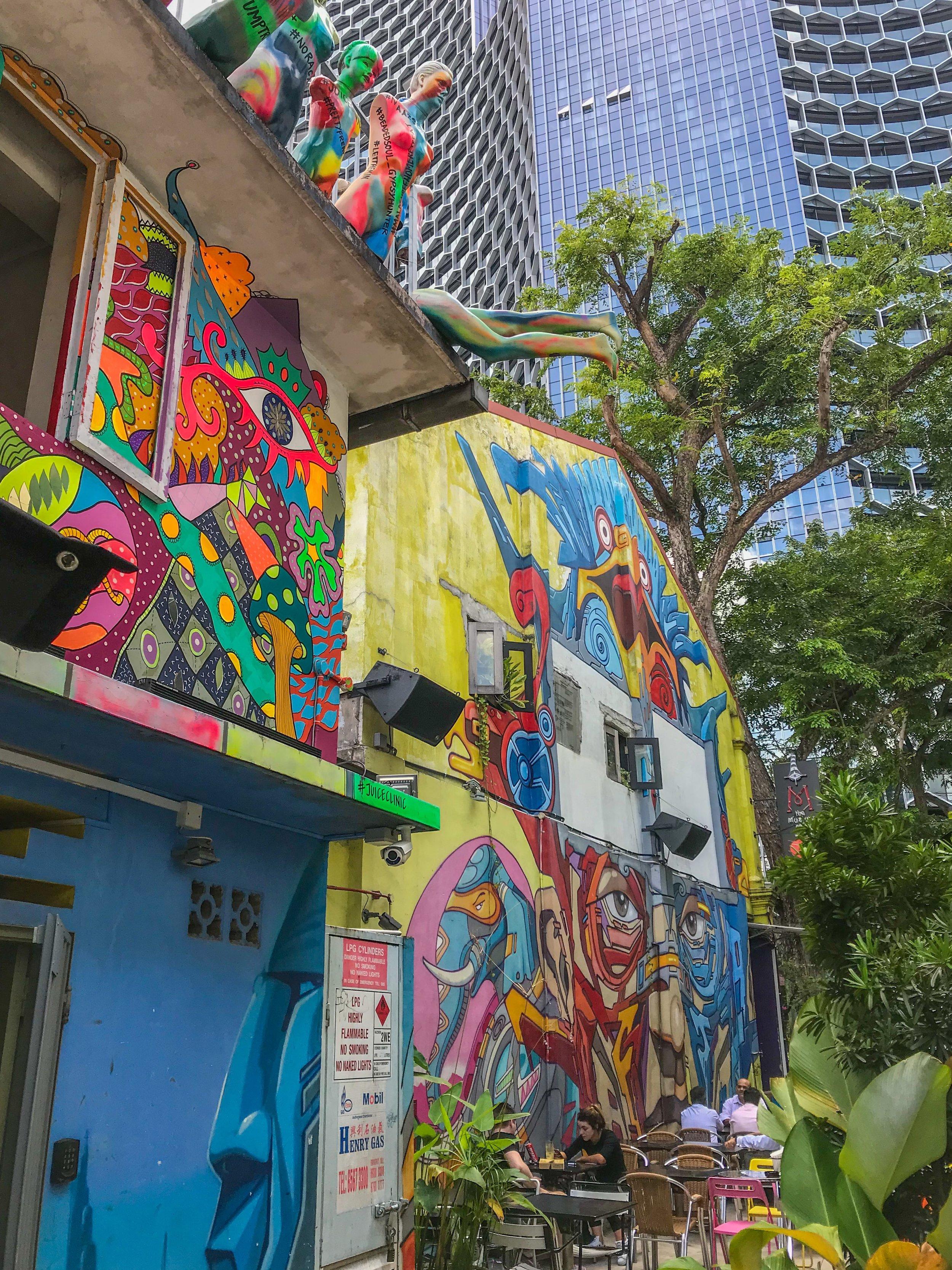 Street art in Kampong Glam