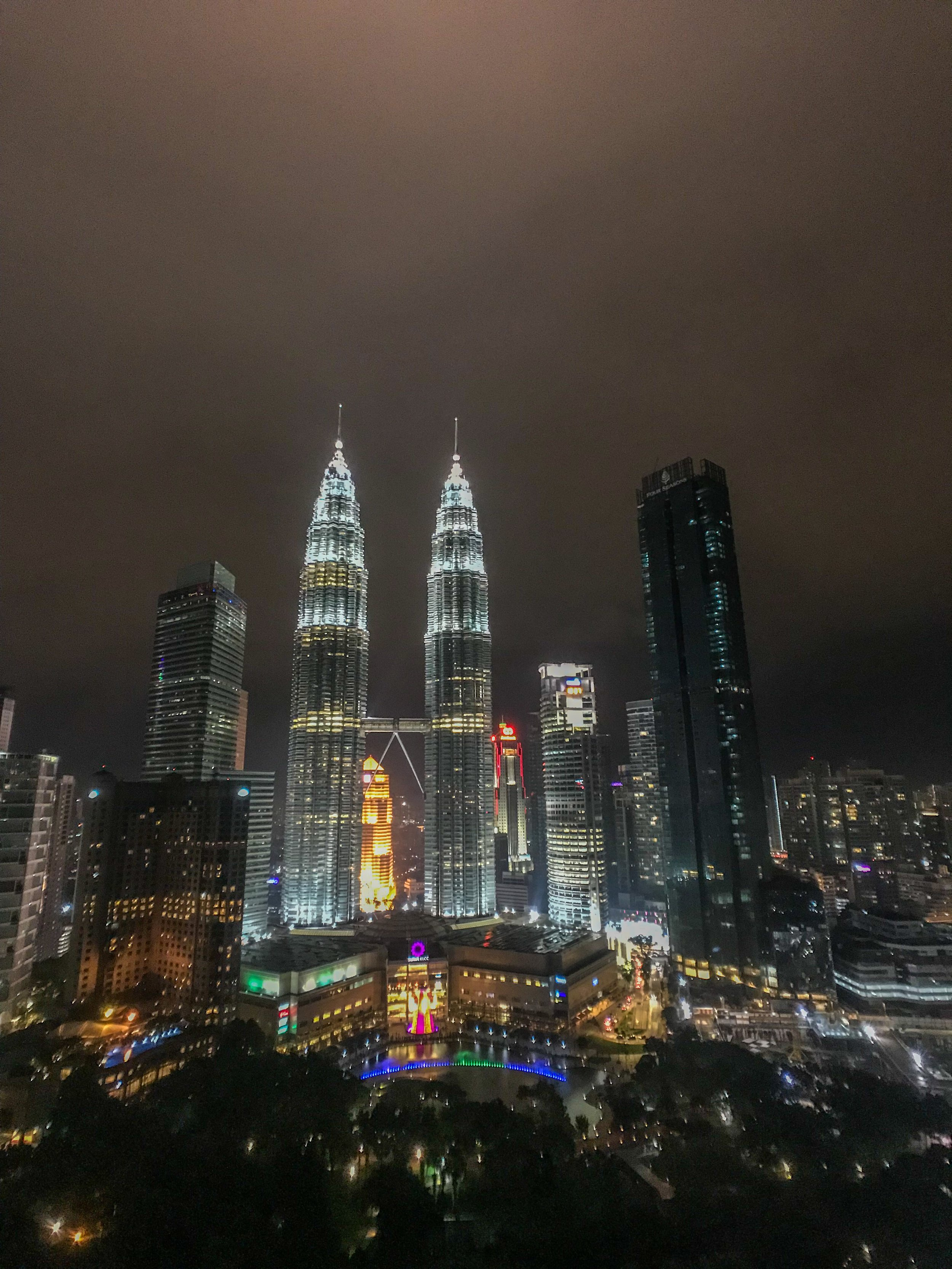 KL Towers in Kuala Lumpur