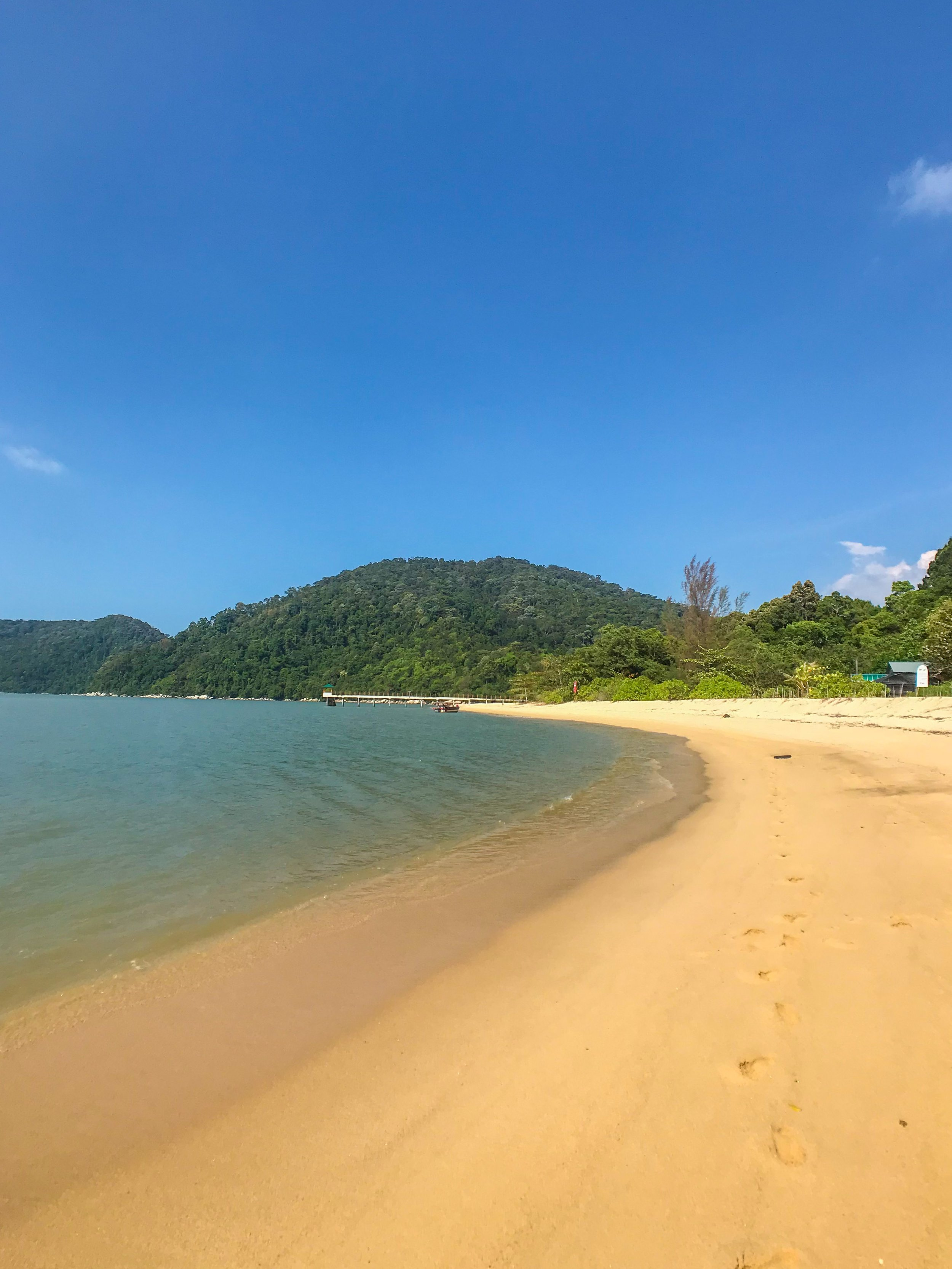 Malaysia's beaches are less crowded than Thailand's
