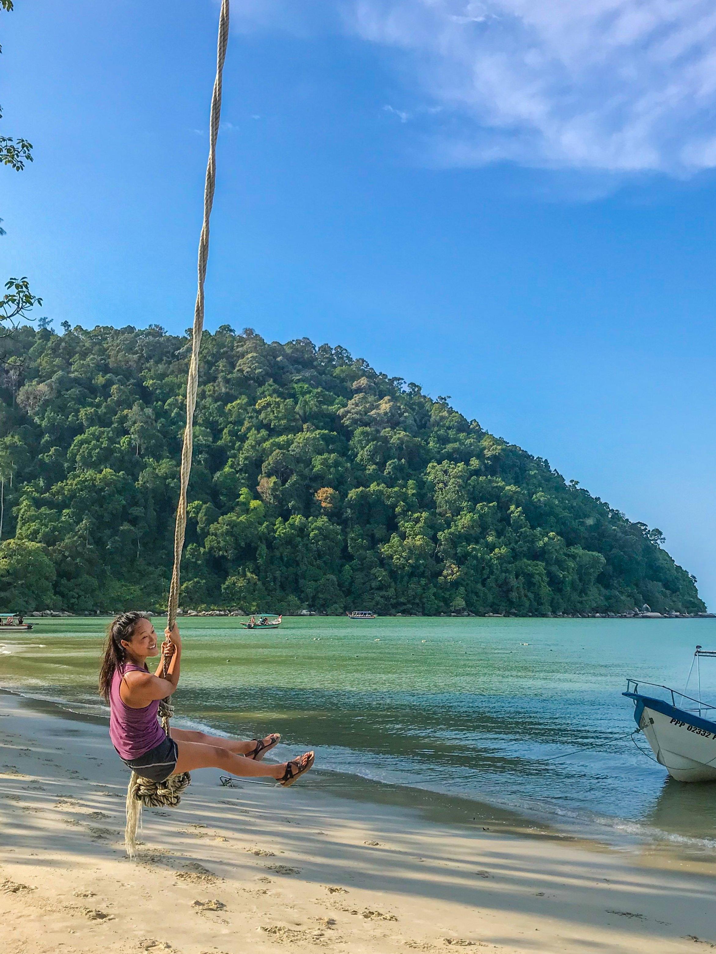 Monkey Beach on Penang Island