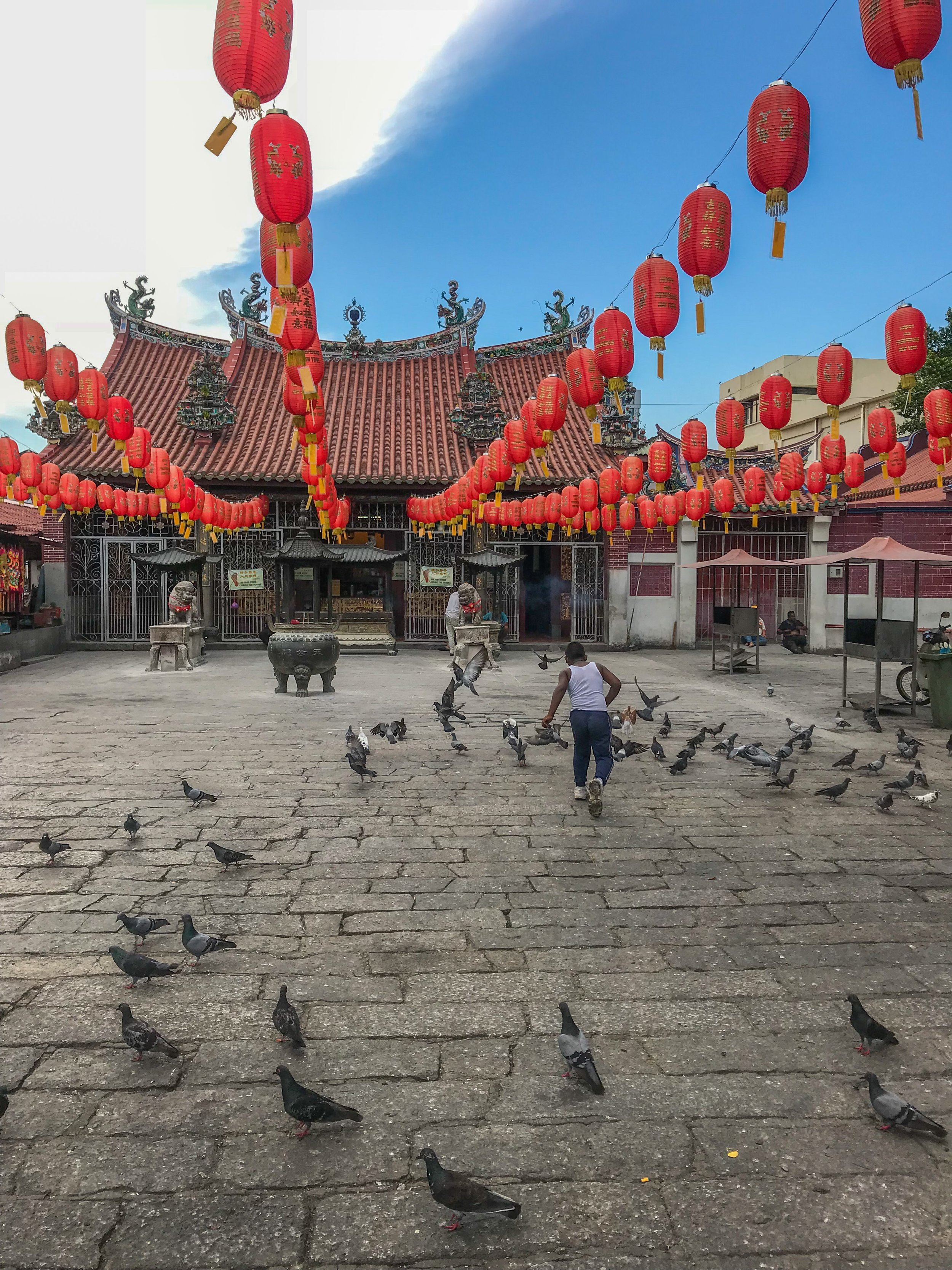 Preparing for Chinese New Year in Penang