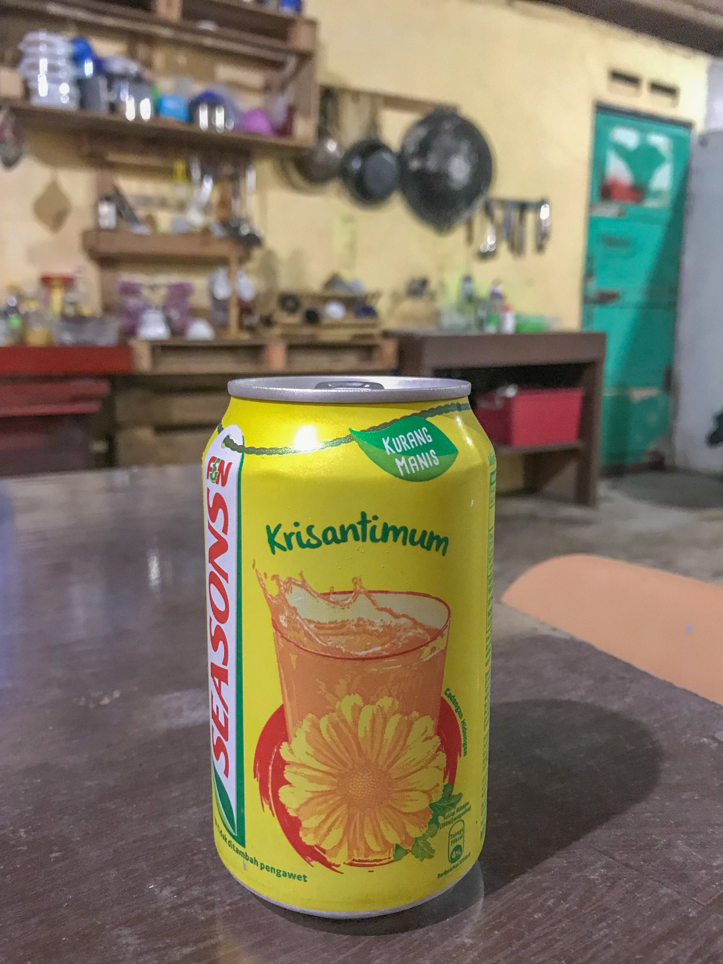 Chrysanthumum soda? Why not?