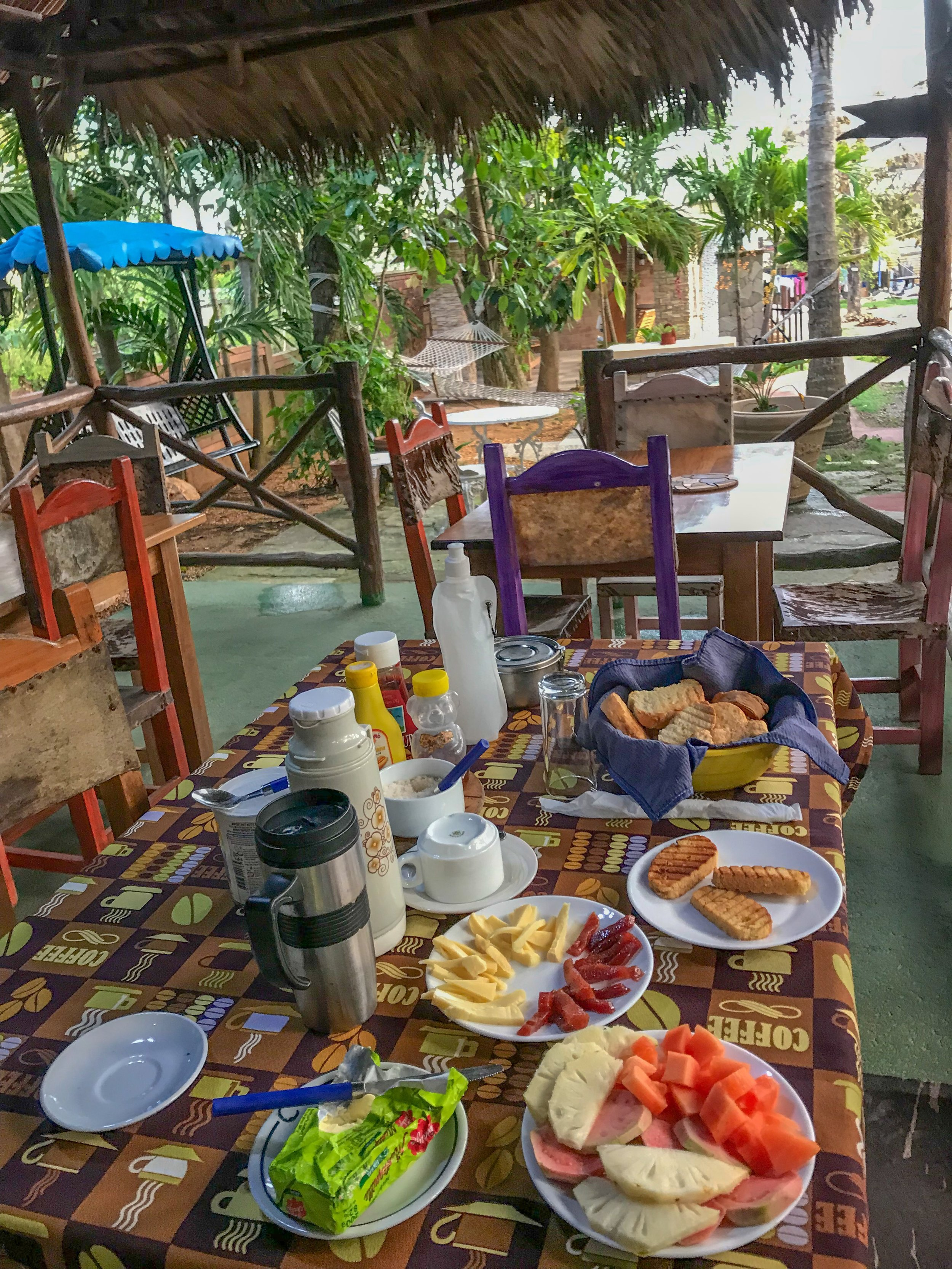 """Breakfast at a one-of-a-kind """"casa in a garden"""""""