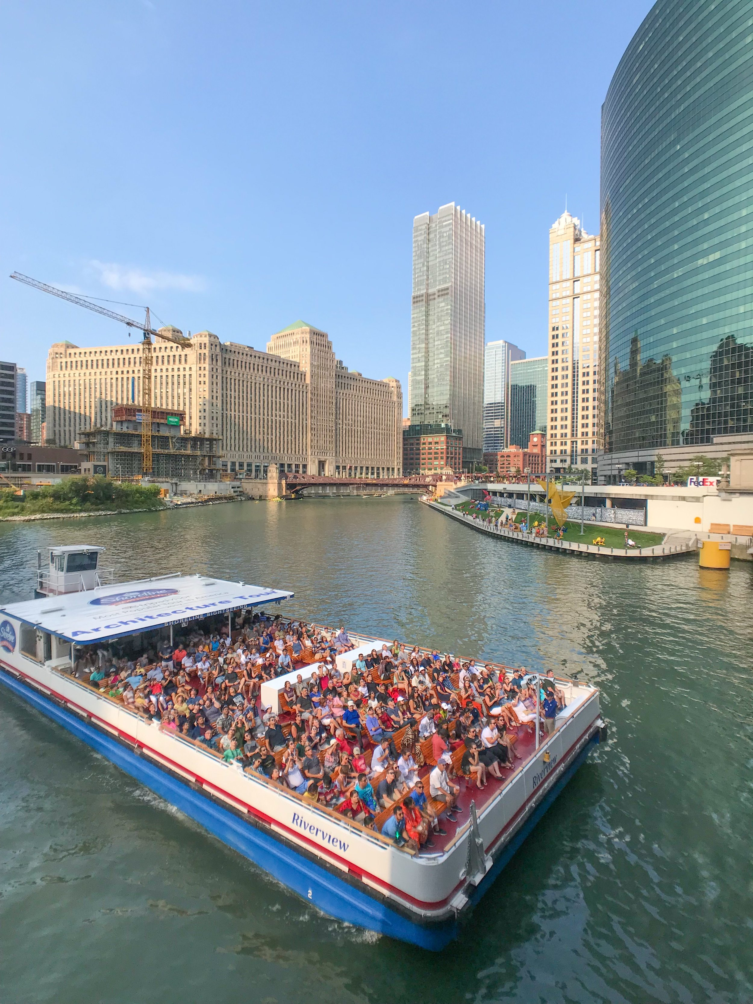 Downtown Chicago River Tours