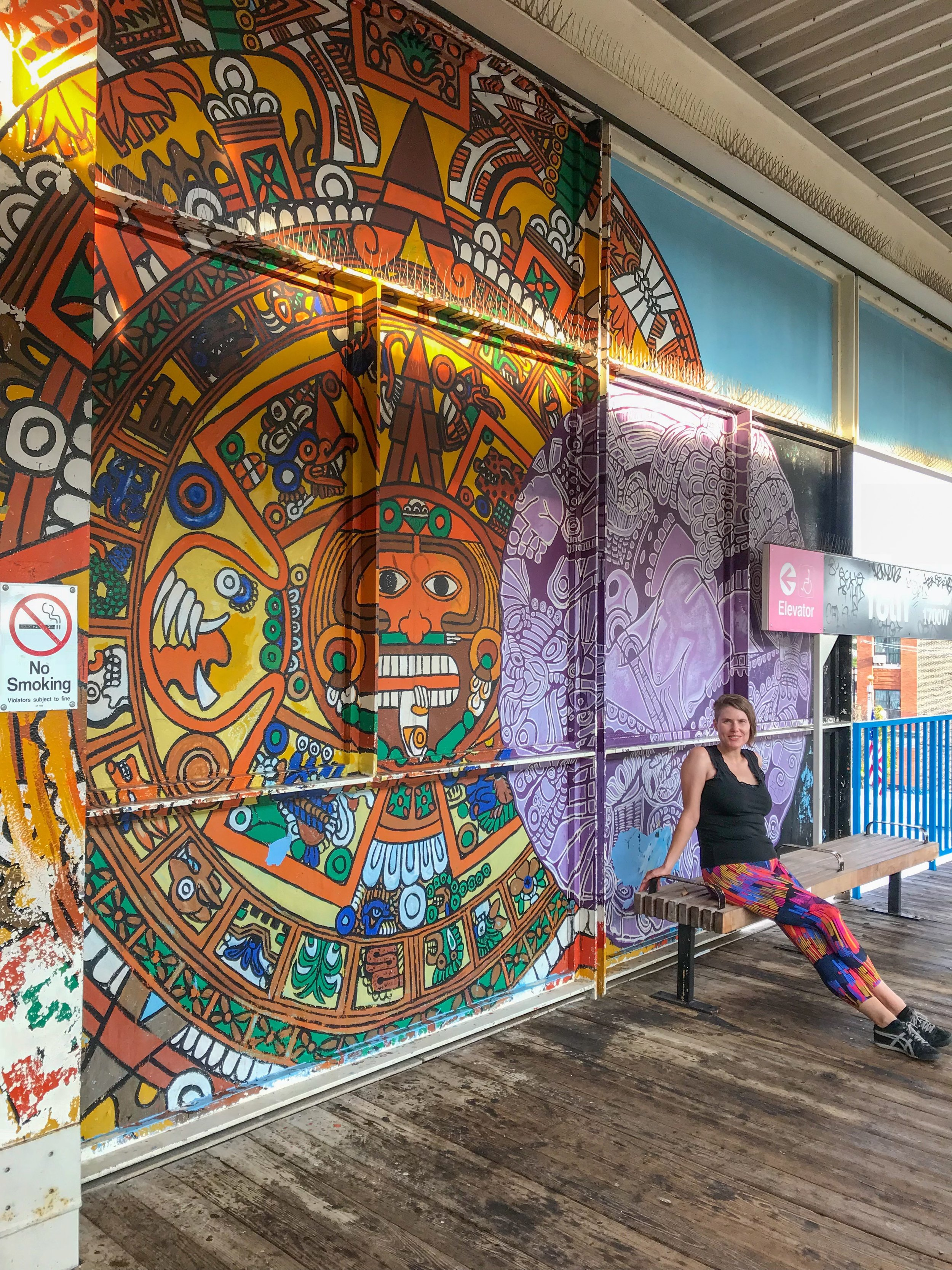 18th Street Metro Station Art