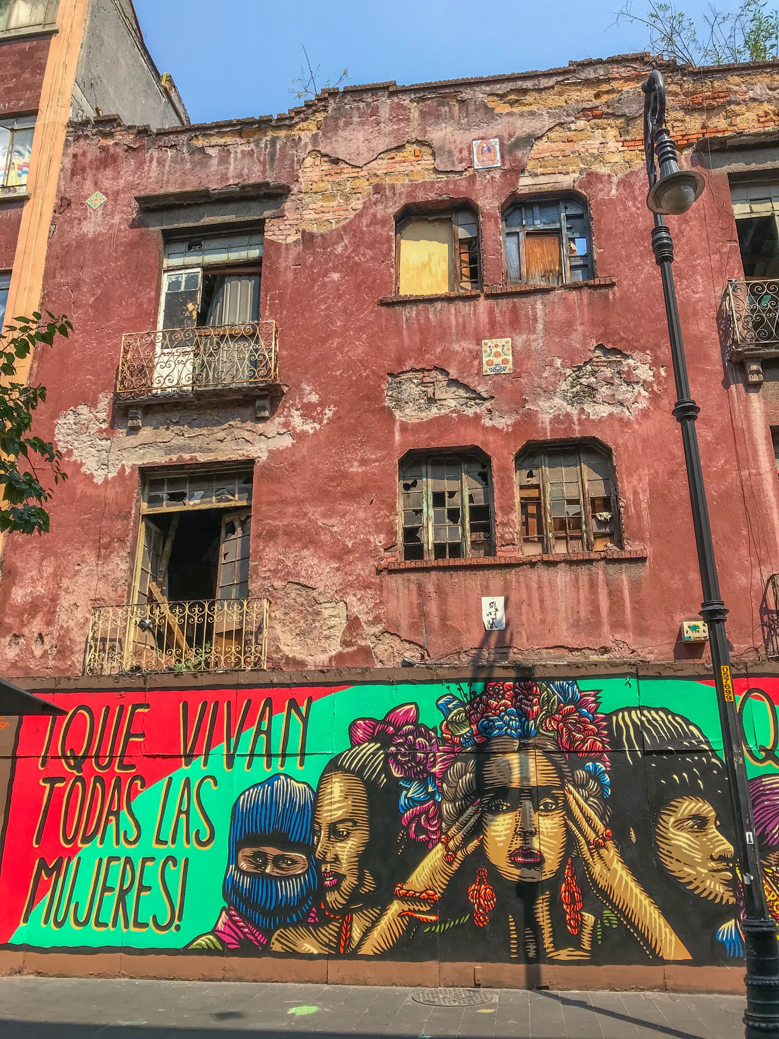 See Mexico City's best graffiti