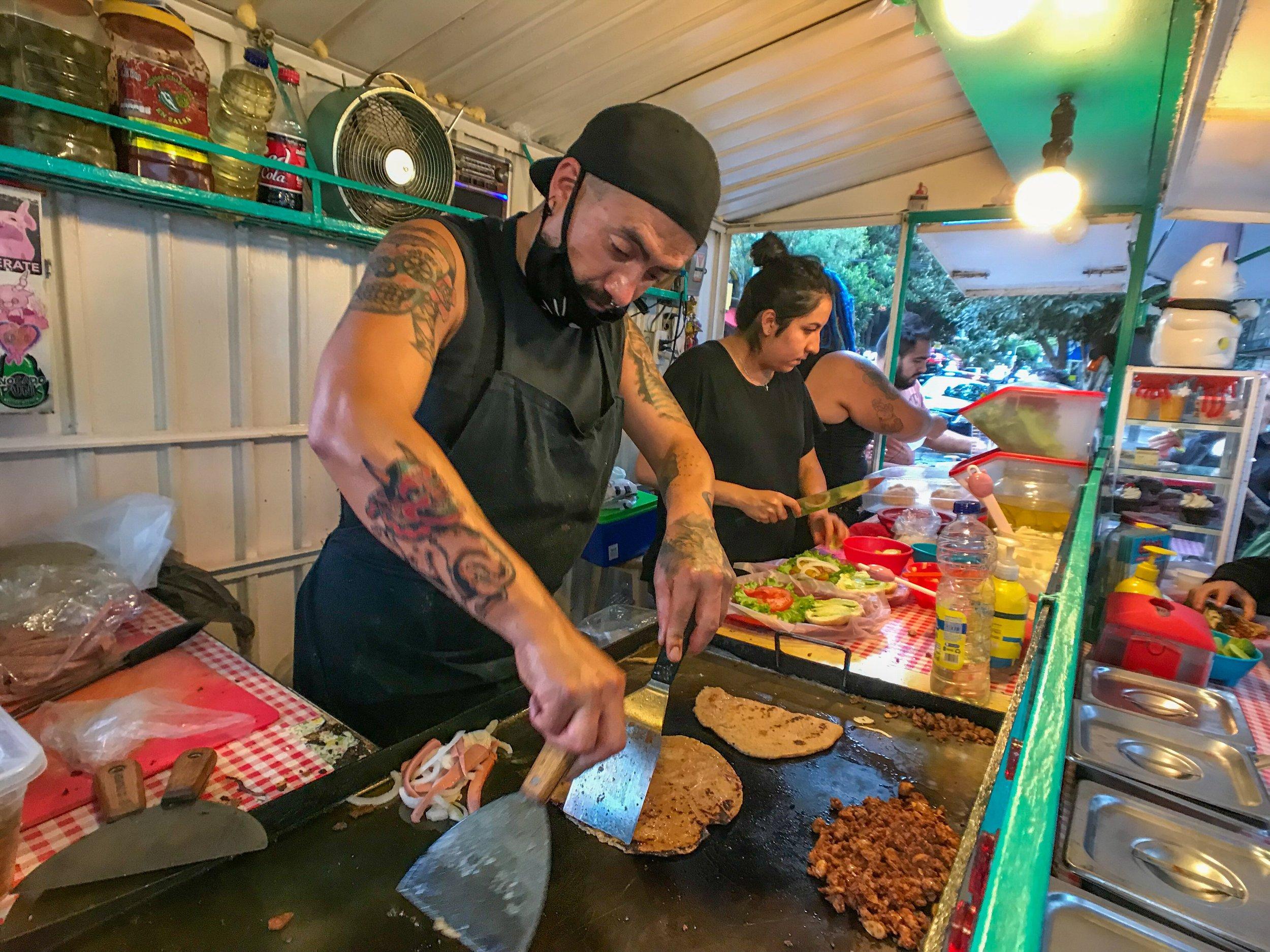 Eat street food that WON'T make you sick