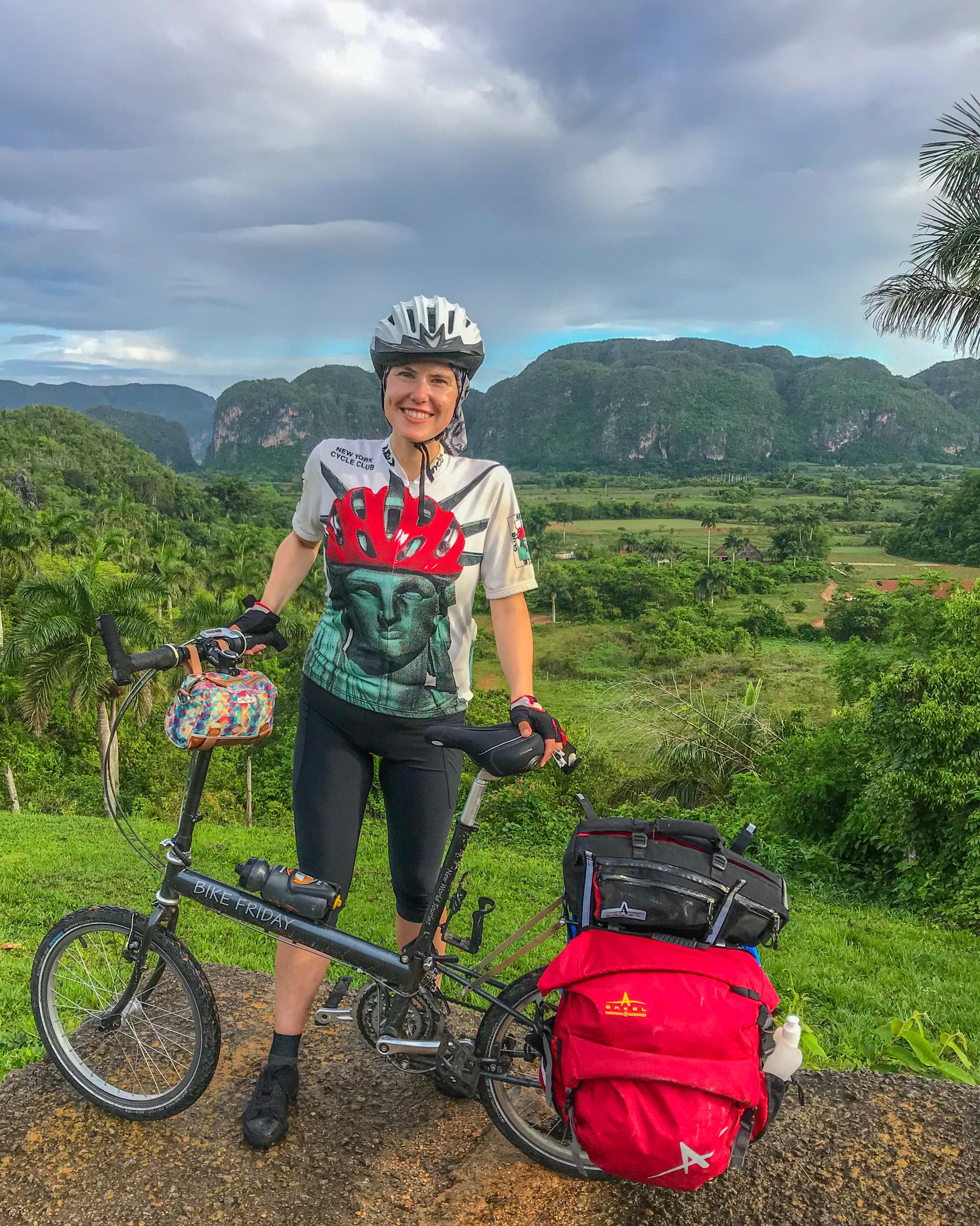 Solo bike touring in Vinales, Pinar del Rio
