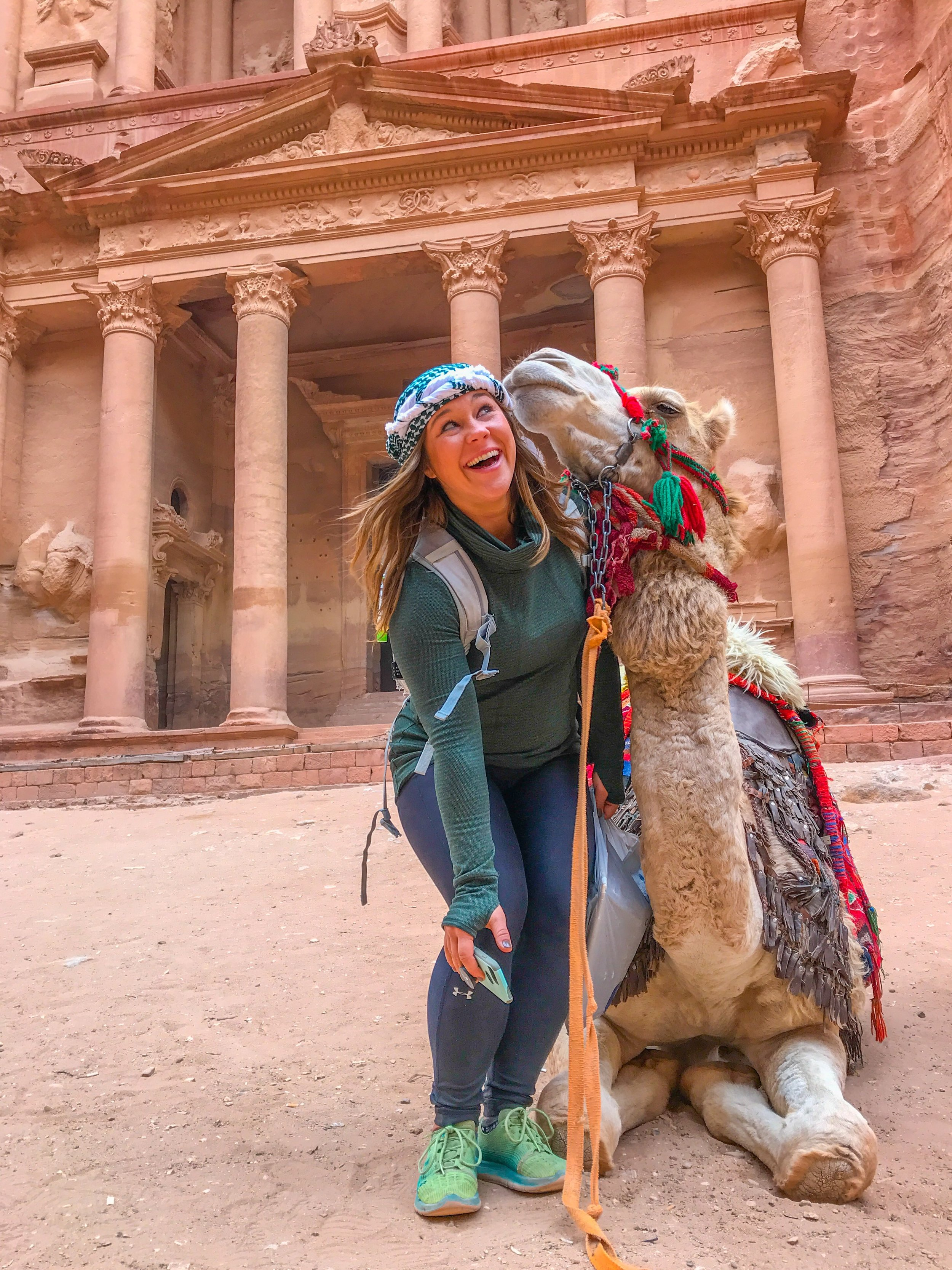 Solo female travel in Jordan is safe