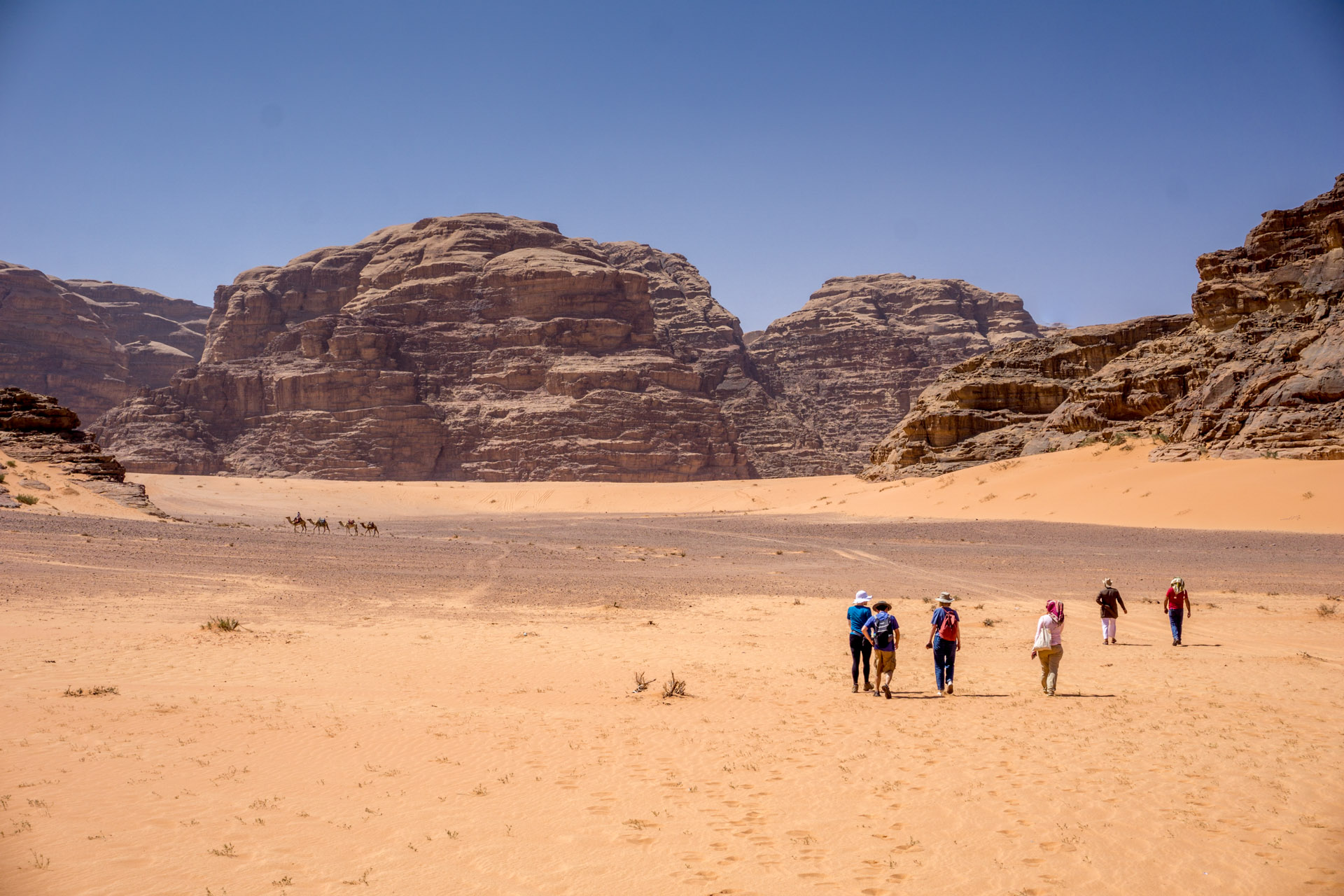Though solo travel to Jordan is safe, some people feel safer traveling in groups
