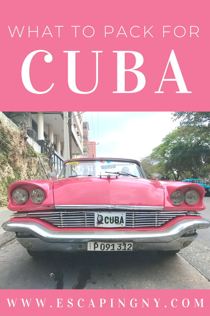Packing essentials for your trip to Cuba