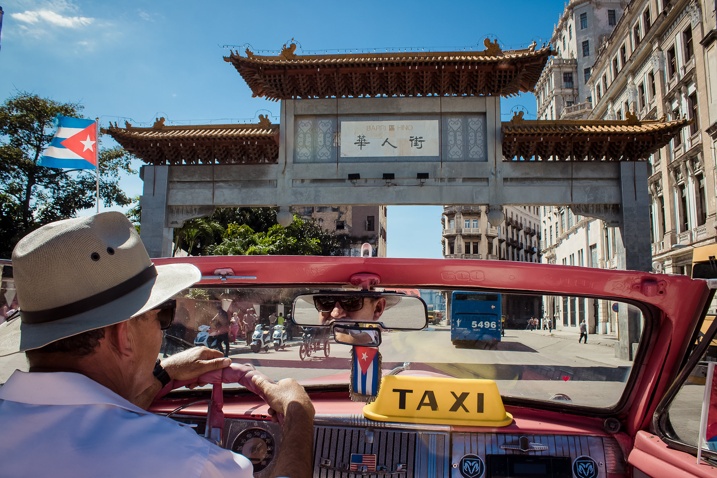Rolling through Havana's Chinatown