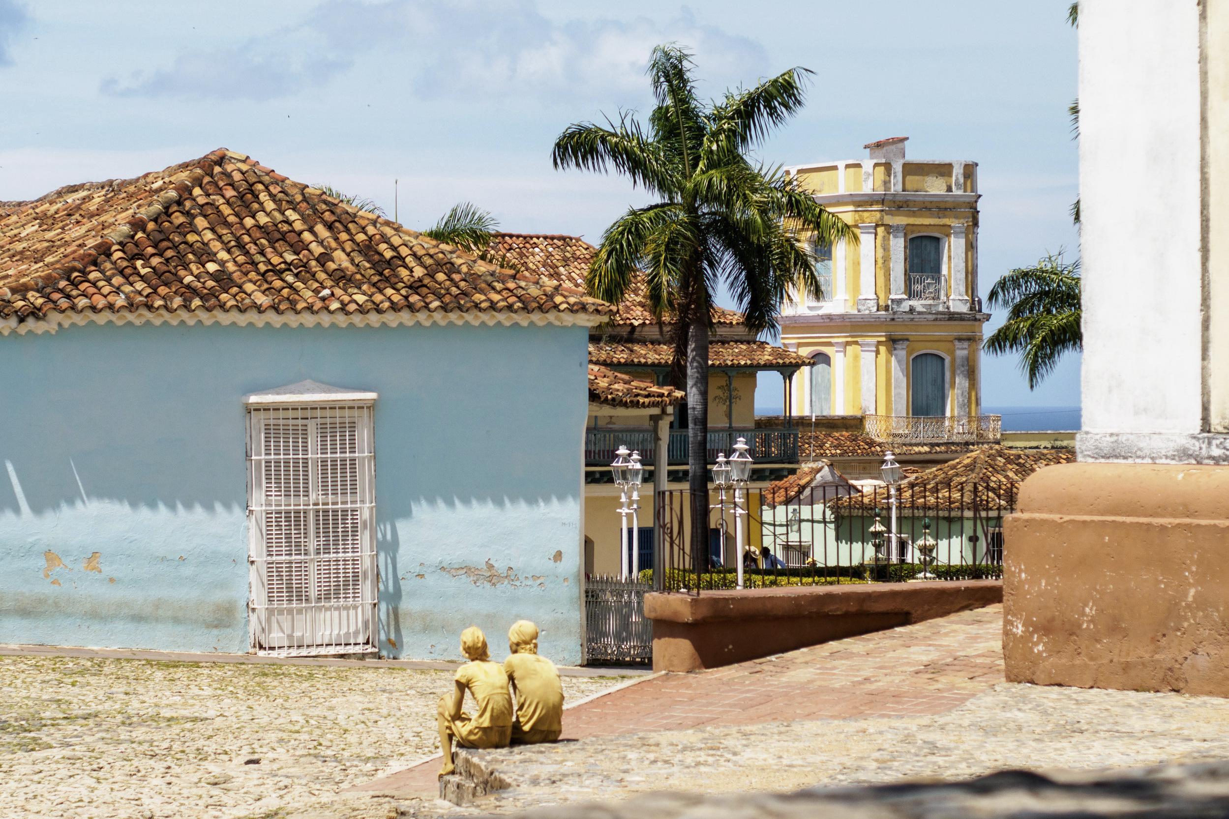 Colonial Trinidad's iconic cobblestone streets