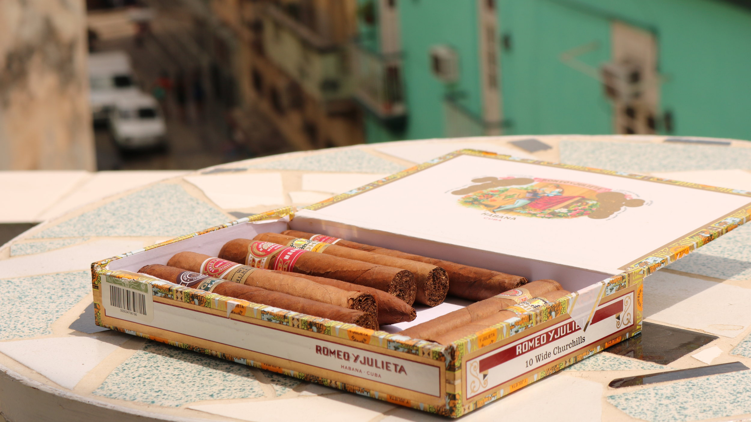 Only by Cuban cigars from trusted vendors