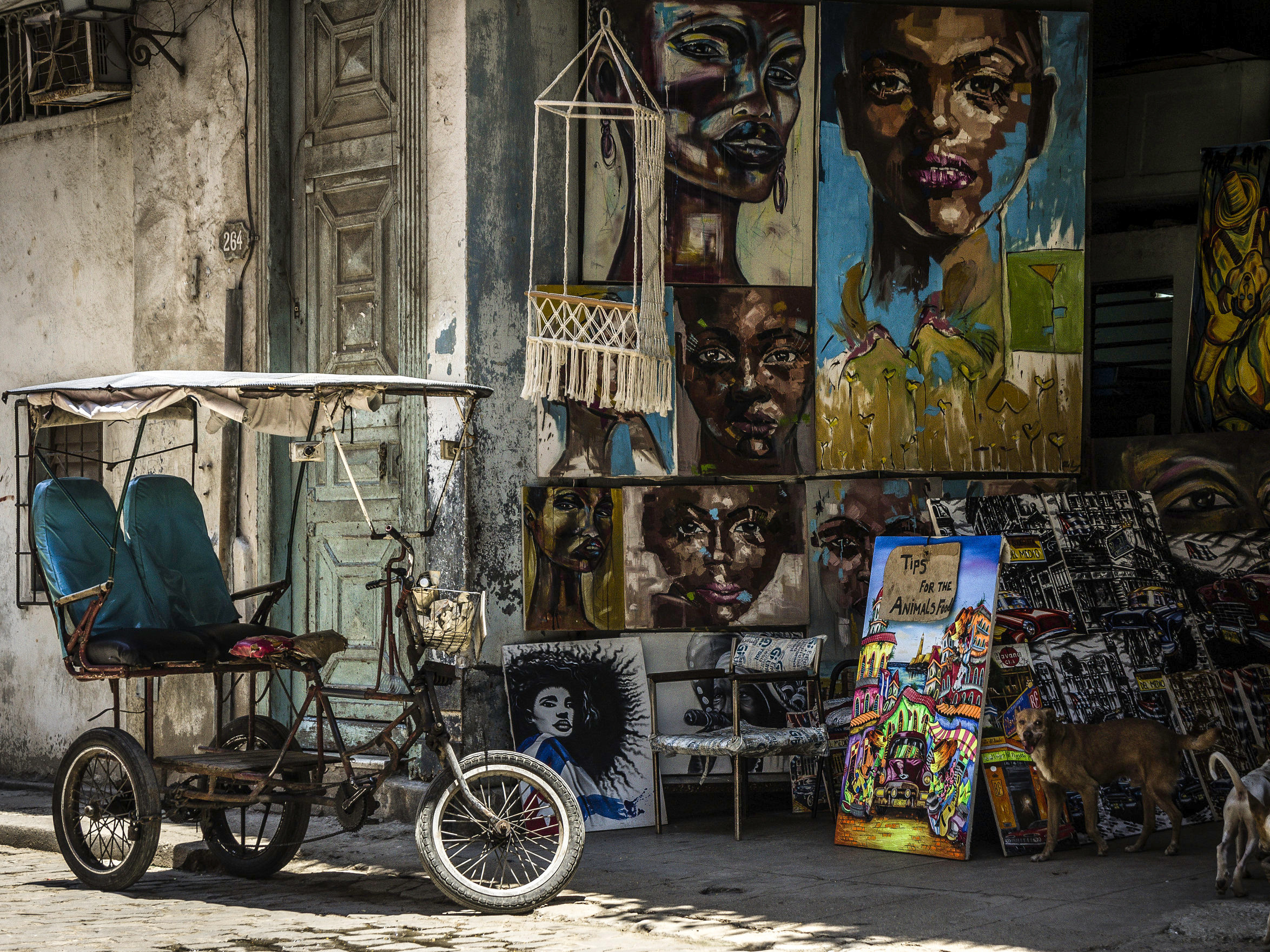 Bicitaxis, or bike taxis, are common across Cuba