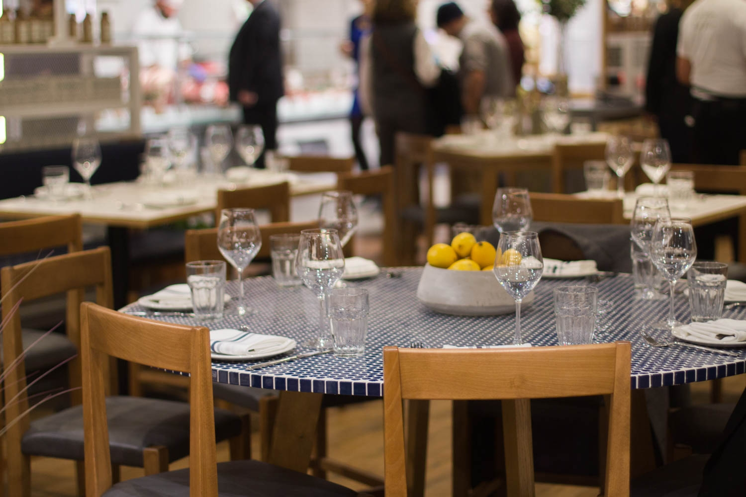 Chef Barbara Lynch's seafood restaurant Il Pesce is one of four restaurants in Eataly which opened on Tuesday, November 29th, in Boston's Prudential Center.