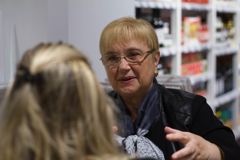 Boston University News Service interviews celebrity chef Lidia Bastianich.