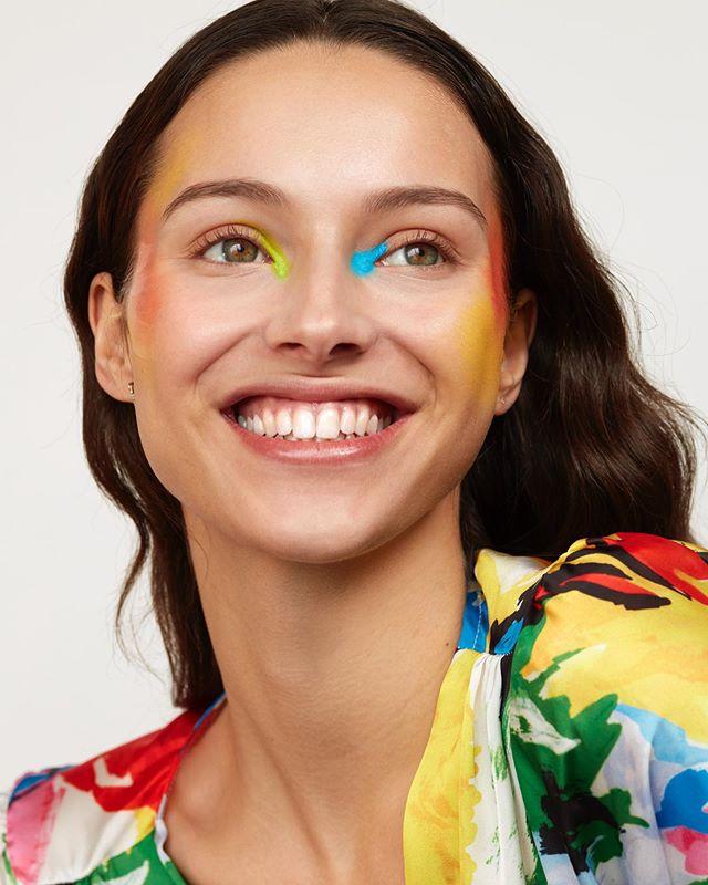 @justjenaye painted by @tinnaempera styled by @sparklewhat #beauty  #jenayenoah #marleykatephoto #newwork #facepaint