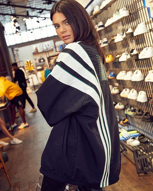 Kendall Jenner for Adidas ❤️ thank you @adidasnyc @kendalljenner #newwork #marleykatephoto #adidas #kendalljenner