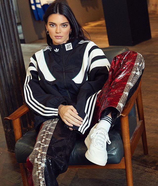 I shot @kendalljenner last week for @adidasnyc ❤️👟 #newwork #adidas #kendalljenner #marleykatephoto
