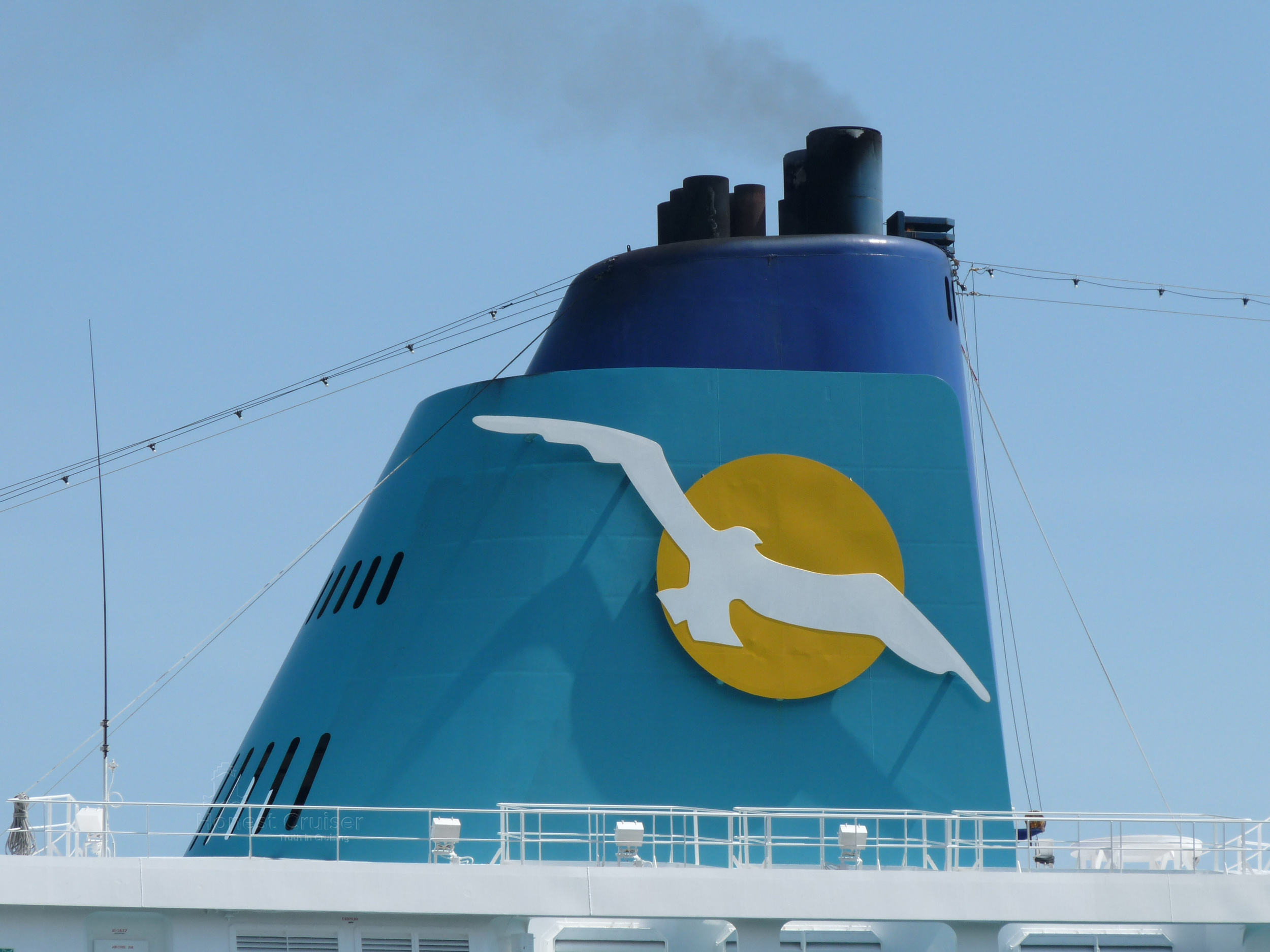 Amadea's funnel blazed with Phoenix Reisen's logo, is very similar in design to her big sister's twin.