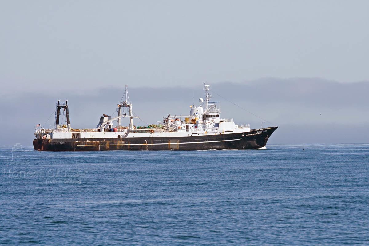 Katie Ann at sea. Photograph courtesy of Captain Hempstead.