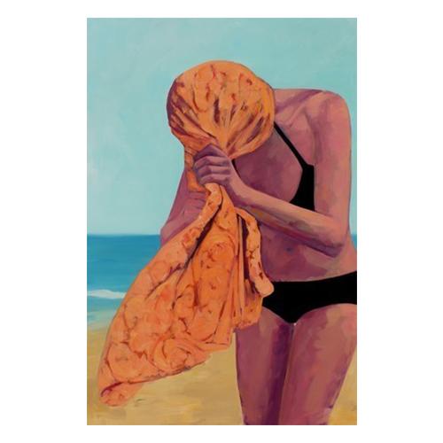 Tangerine Towel by T. S. Harris