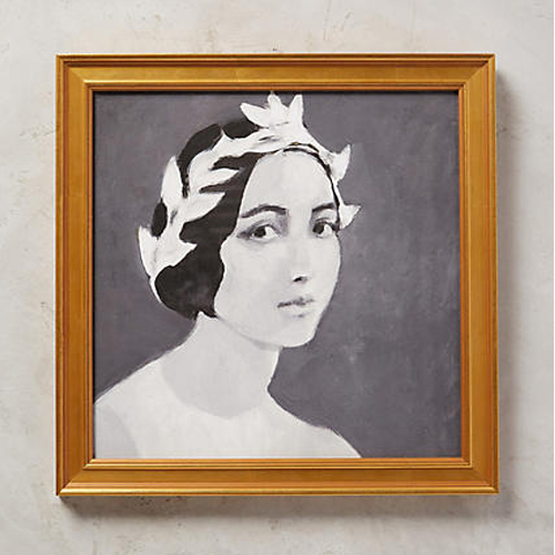 Young Lady Wall Art by Tali Yalonetzki for Artfully Walls