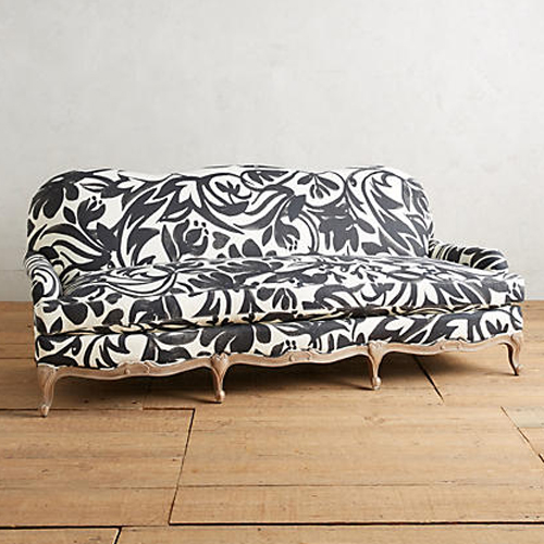 Foliage-Printed Claribel Sofa