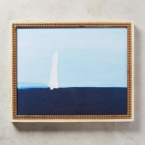 Sea Sailboat Wall Art by Daniela Orlev for Artfully Walls