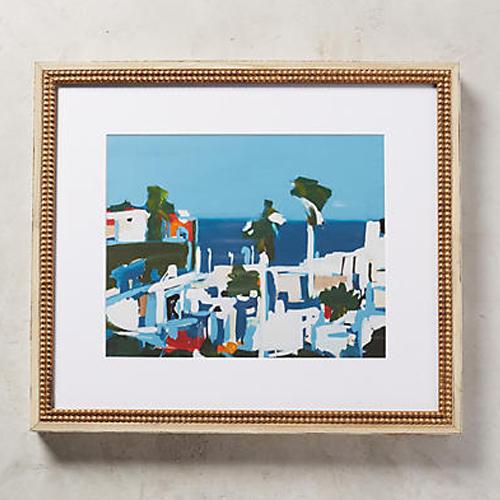 Mediterranean Landscape Wall Art by Daniela Orlev for Artfully Walls